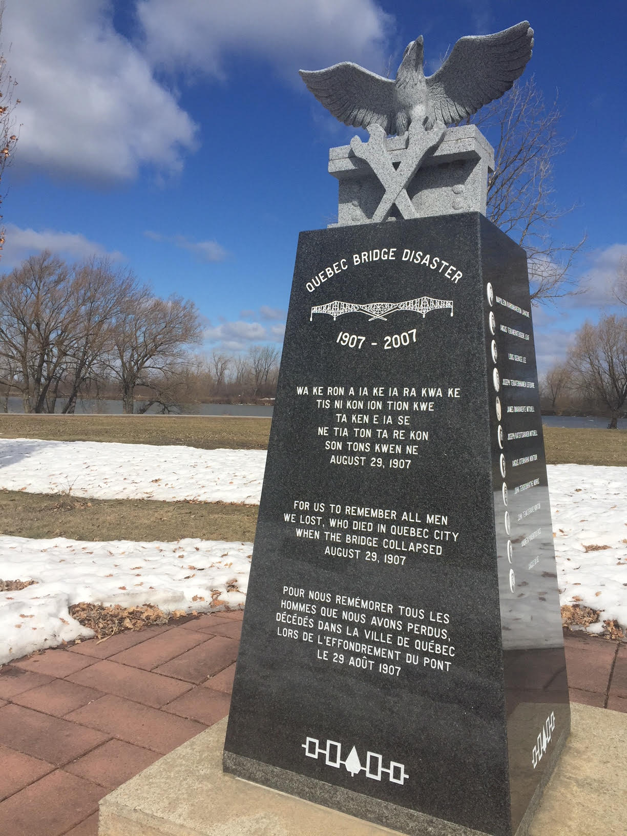 The monument for the ironworkers