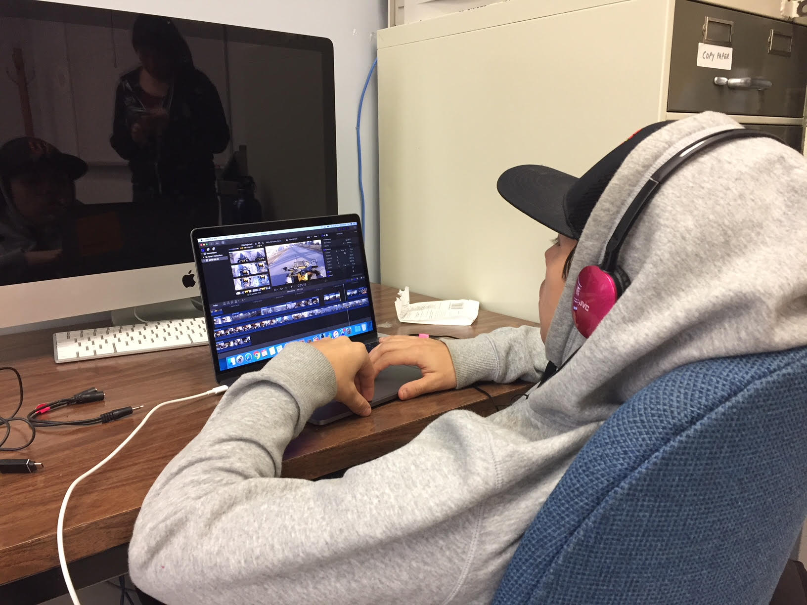 Kanerahtens is really confident working on Final Cut X