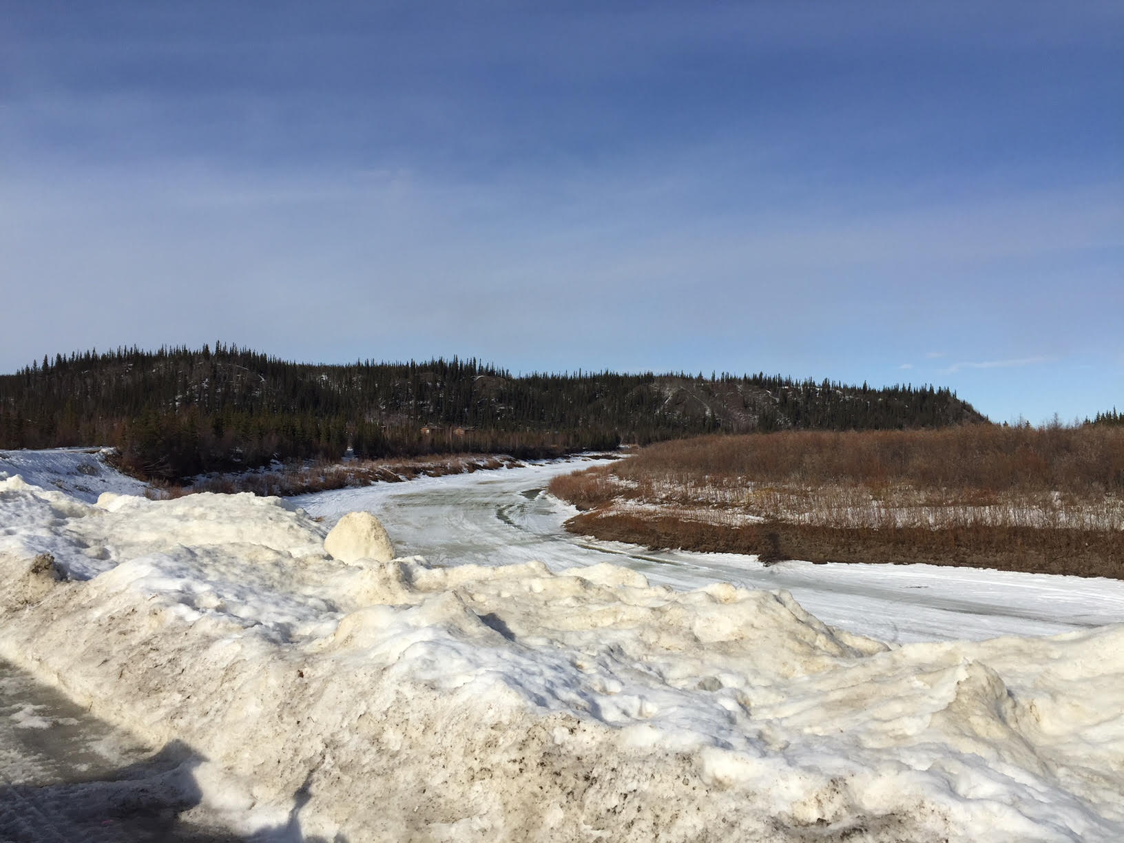 The Slough (an offshoot of the Porcupine River)