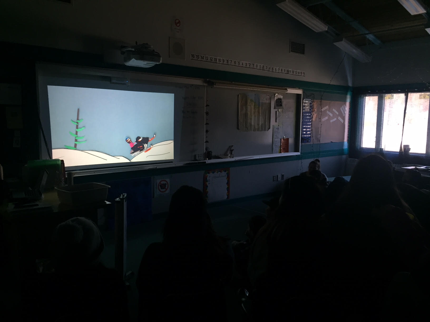 A & D Productions open the screening (Images of Old Crow)