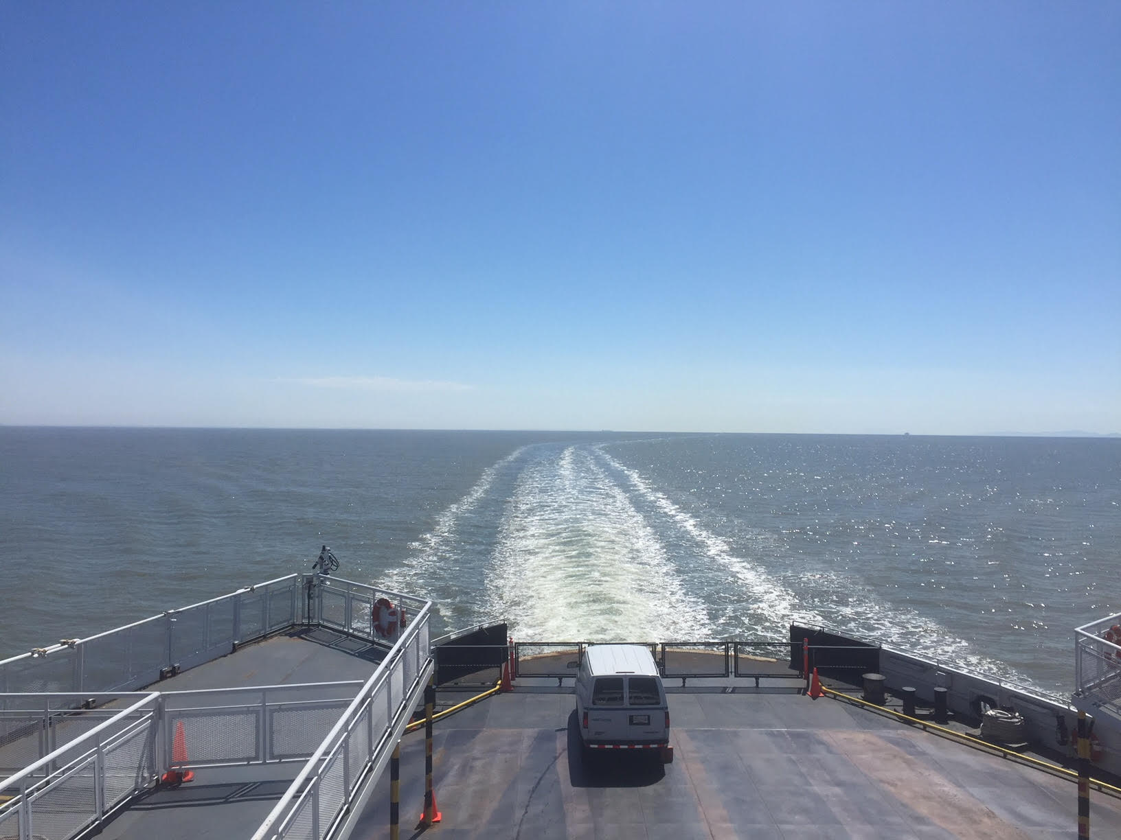 A beautiful day for a ferry ride!