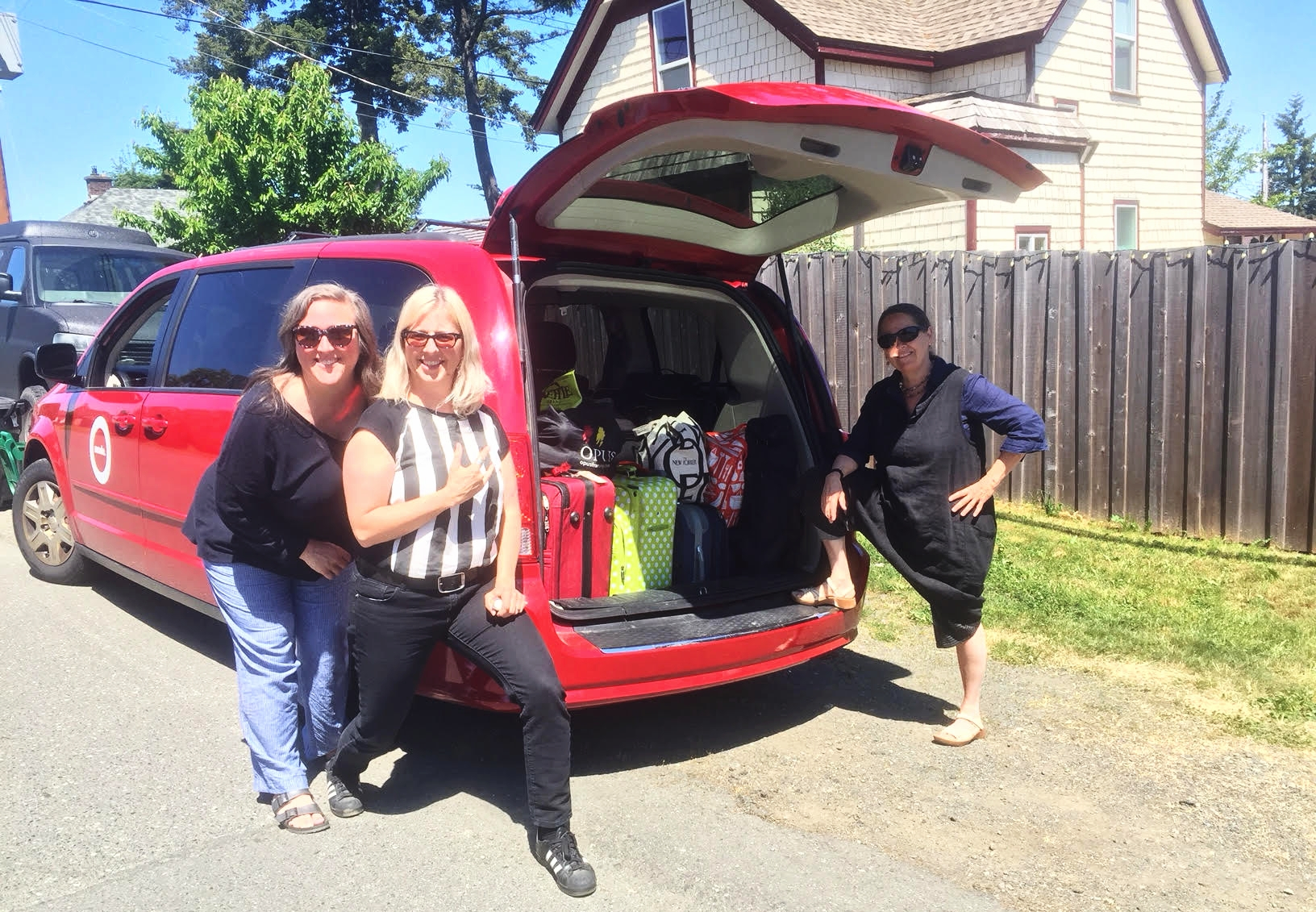 Pickup more luggage and more mentors in Cumberland BC