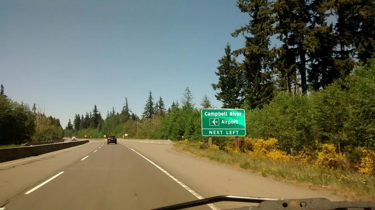 still heading north…