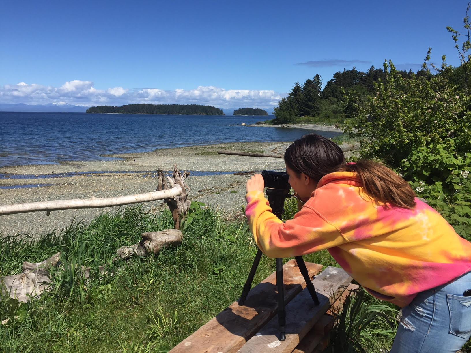 Jade captures the view