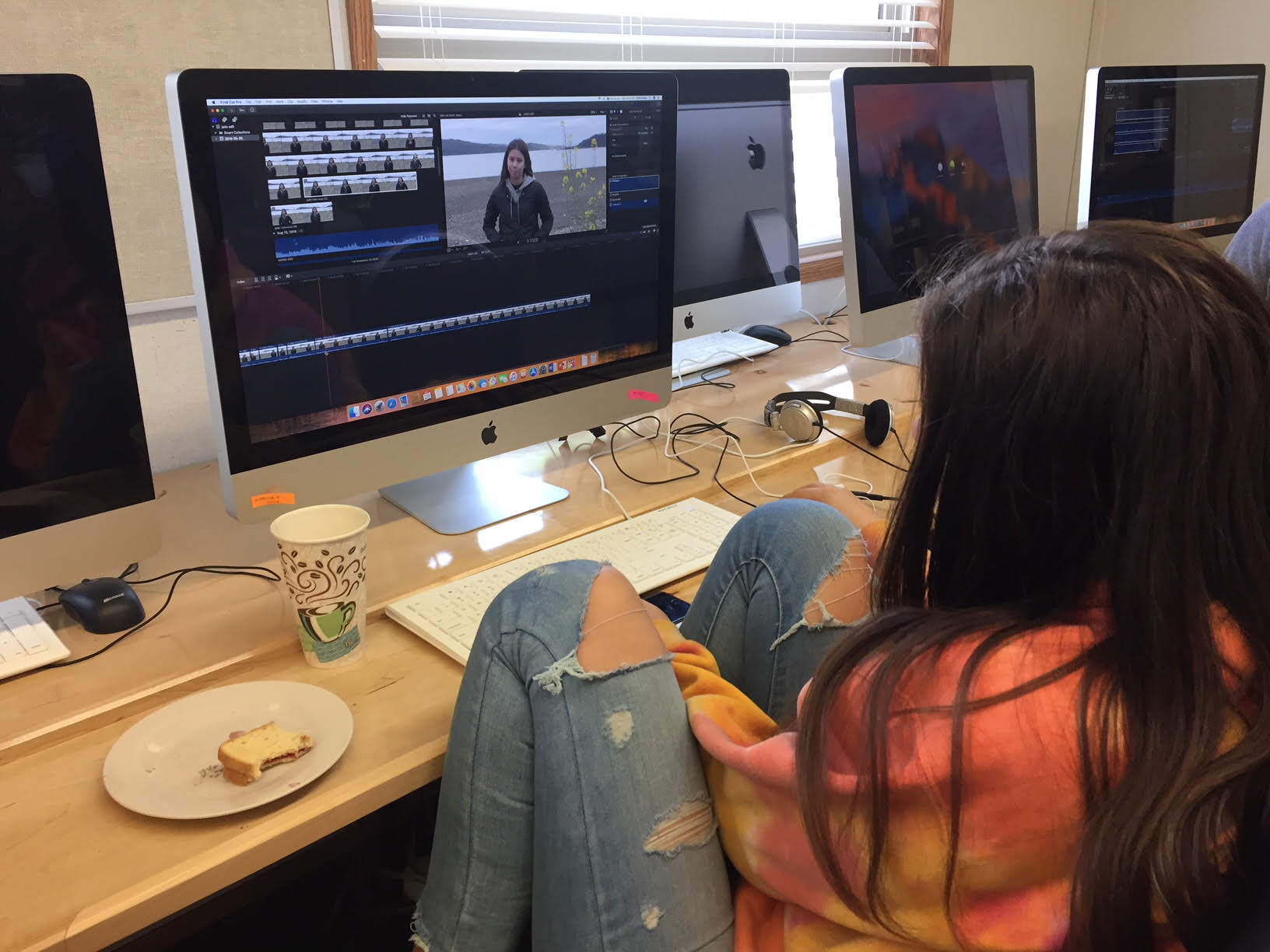 Jade learns final cut pro x FAST!!