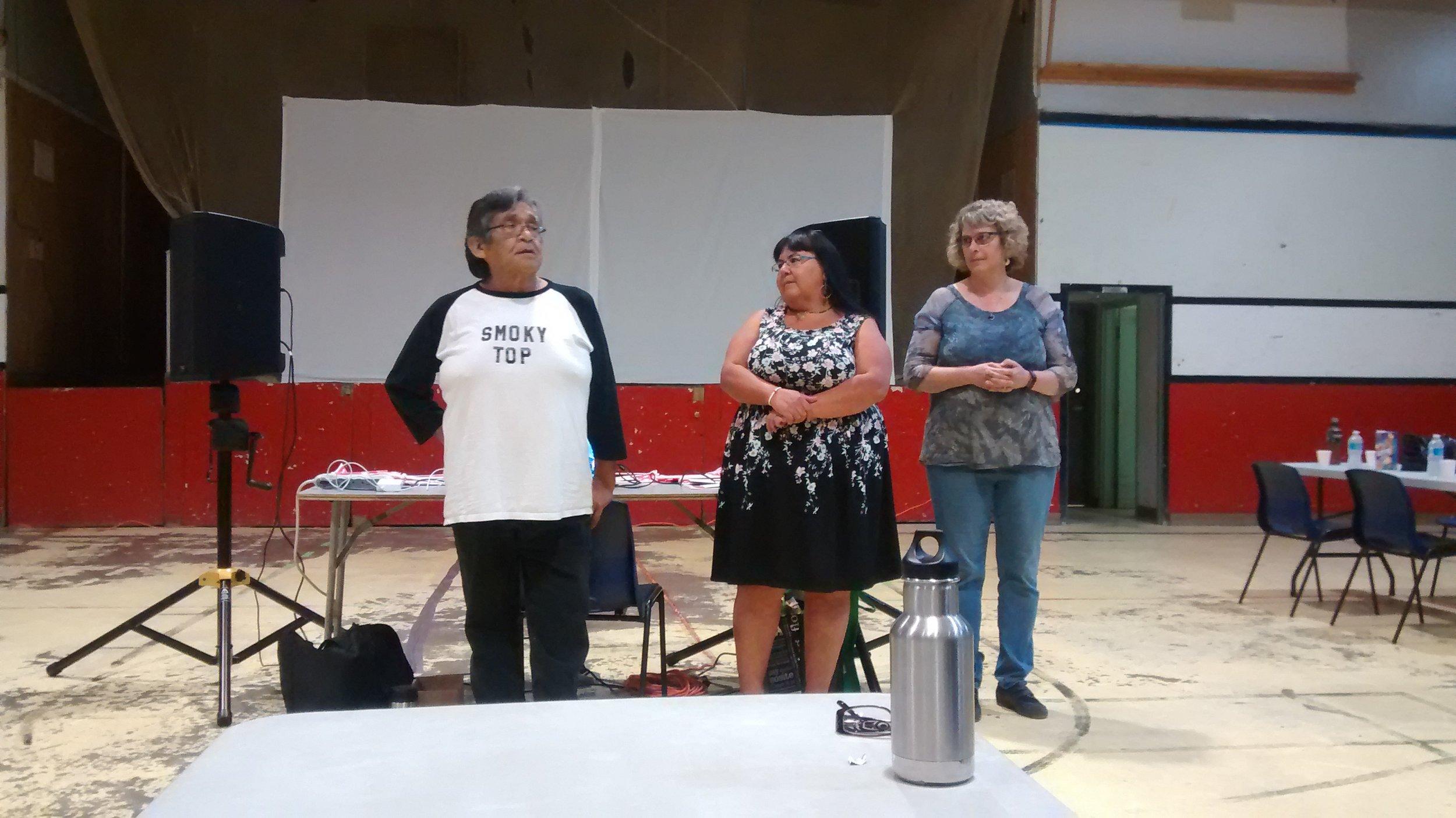 TK, Leah & Sheila !