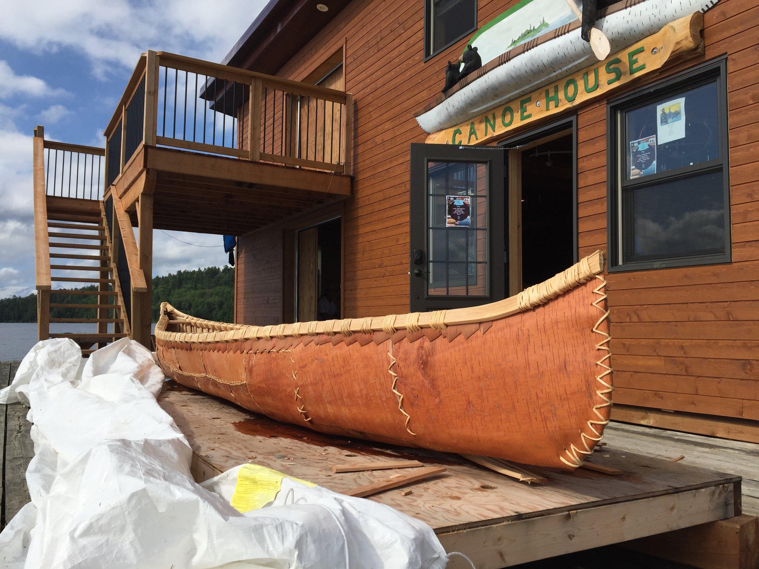 The birchbark canoe