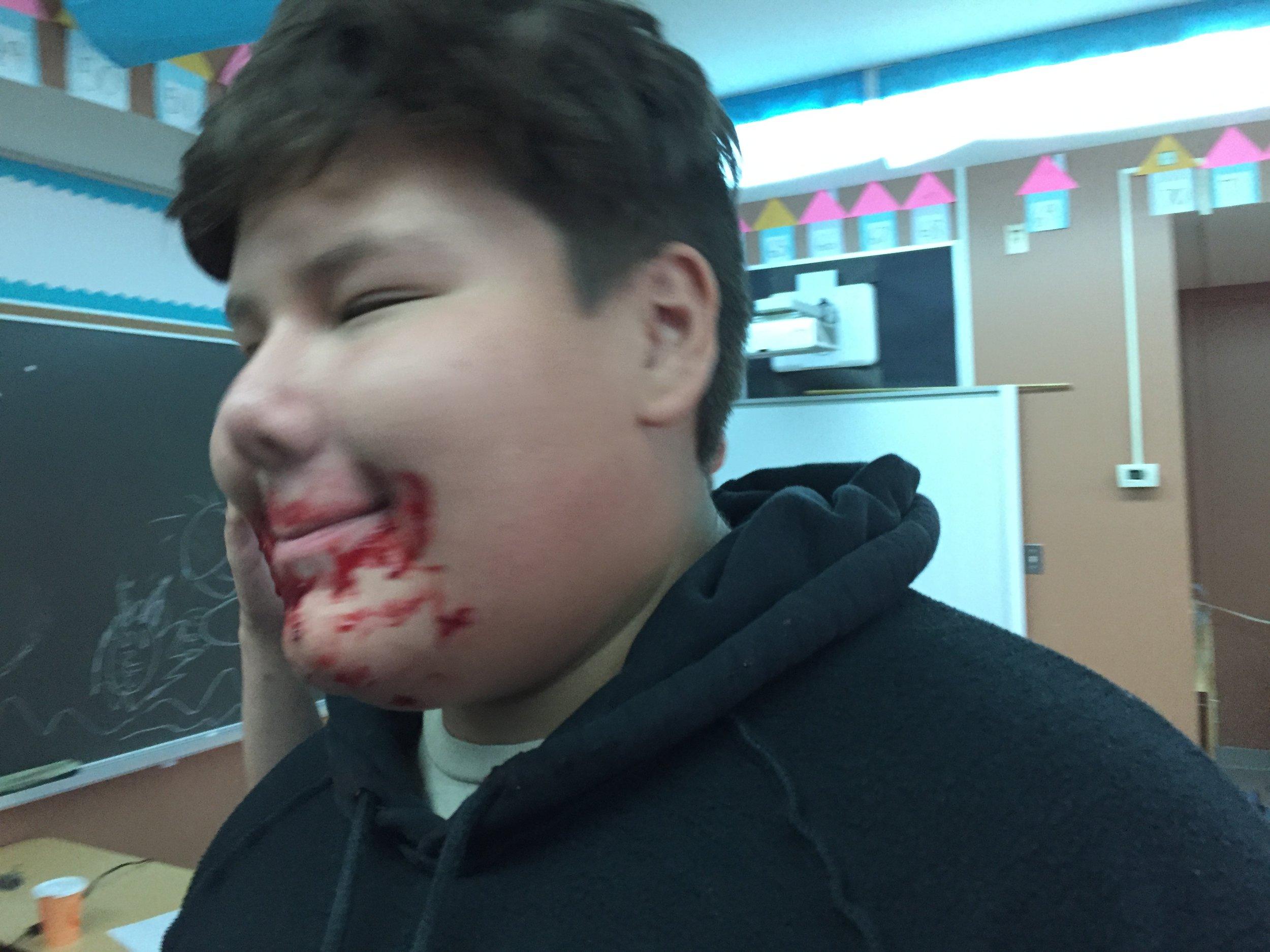 Flesh eating Zombie