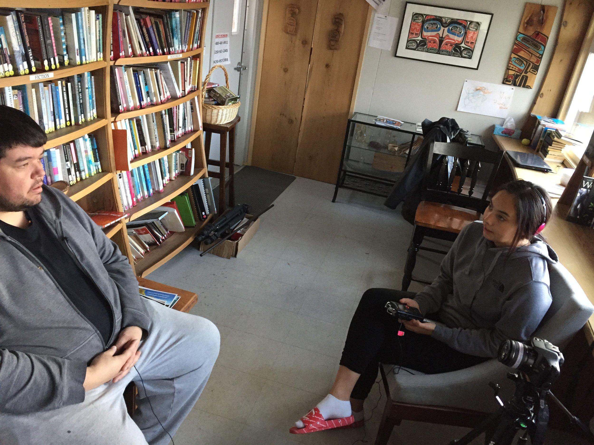Eylssa interviews her dad