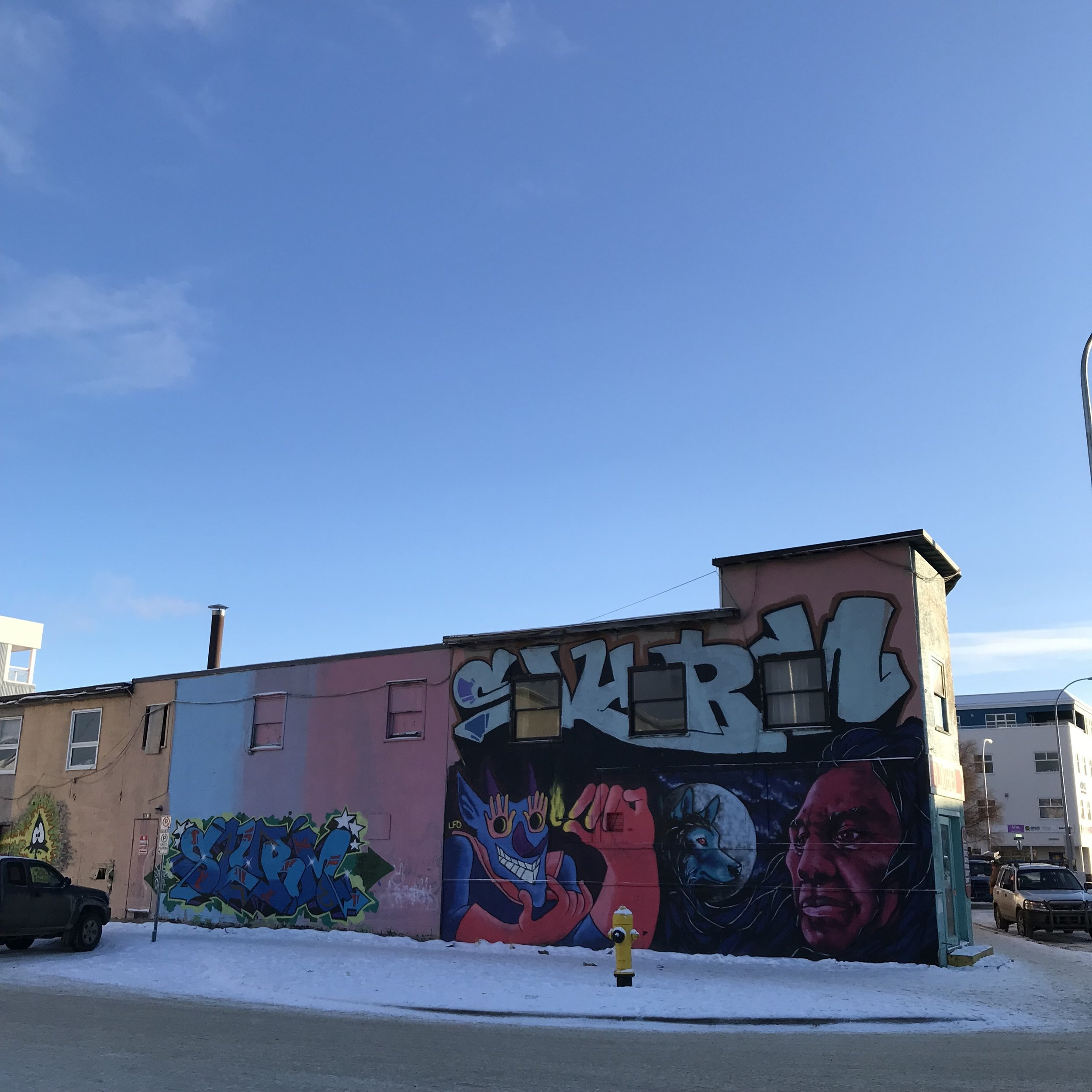 more grafitti…