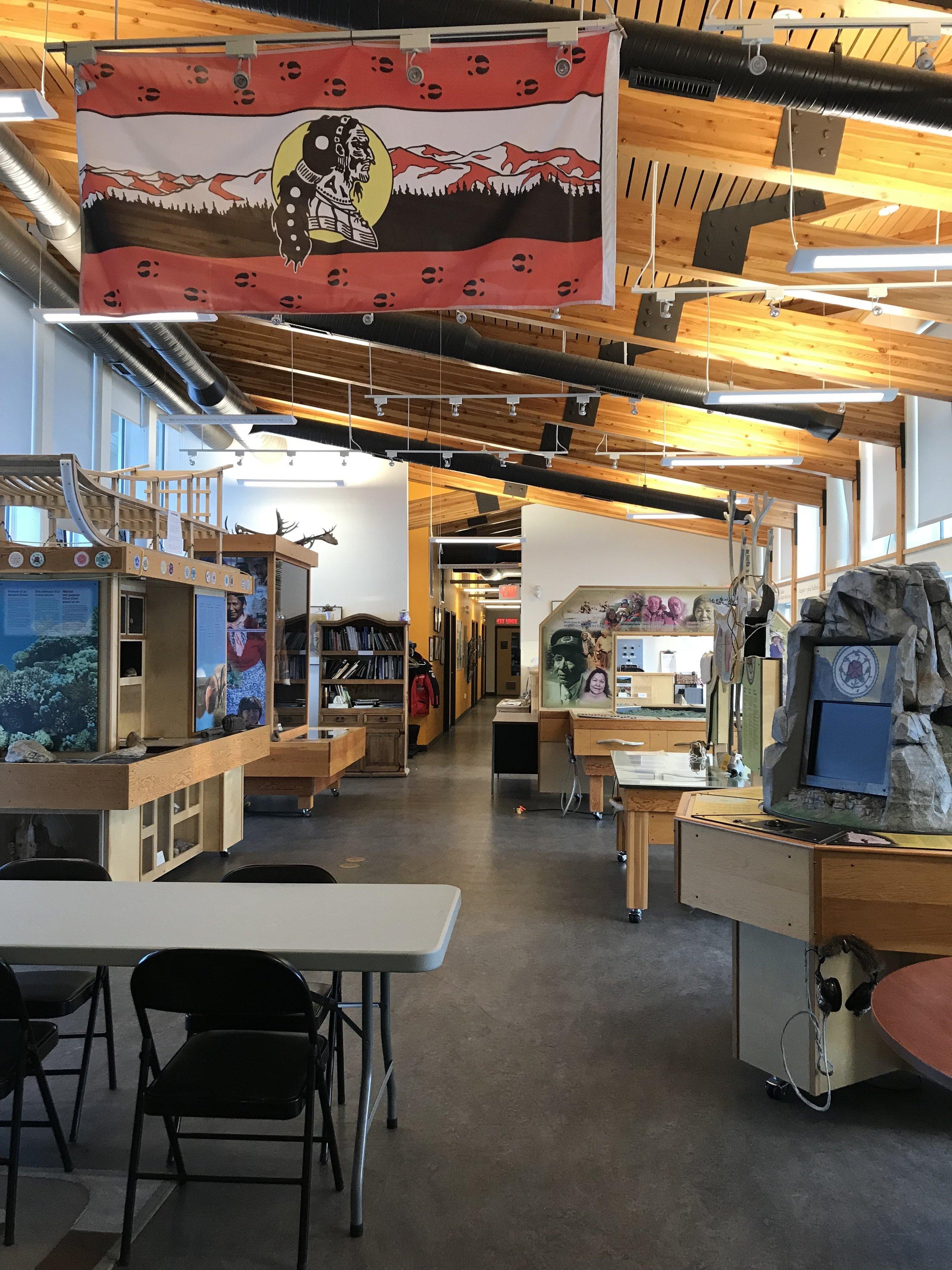 The John Tyzia Centre's interactive exhibits
