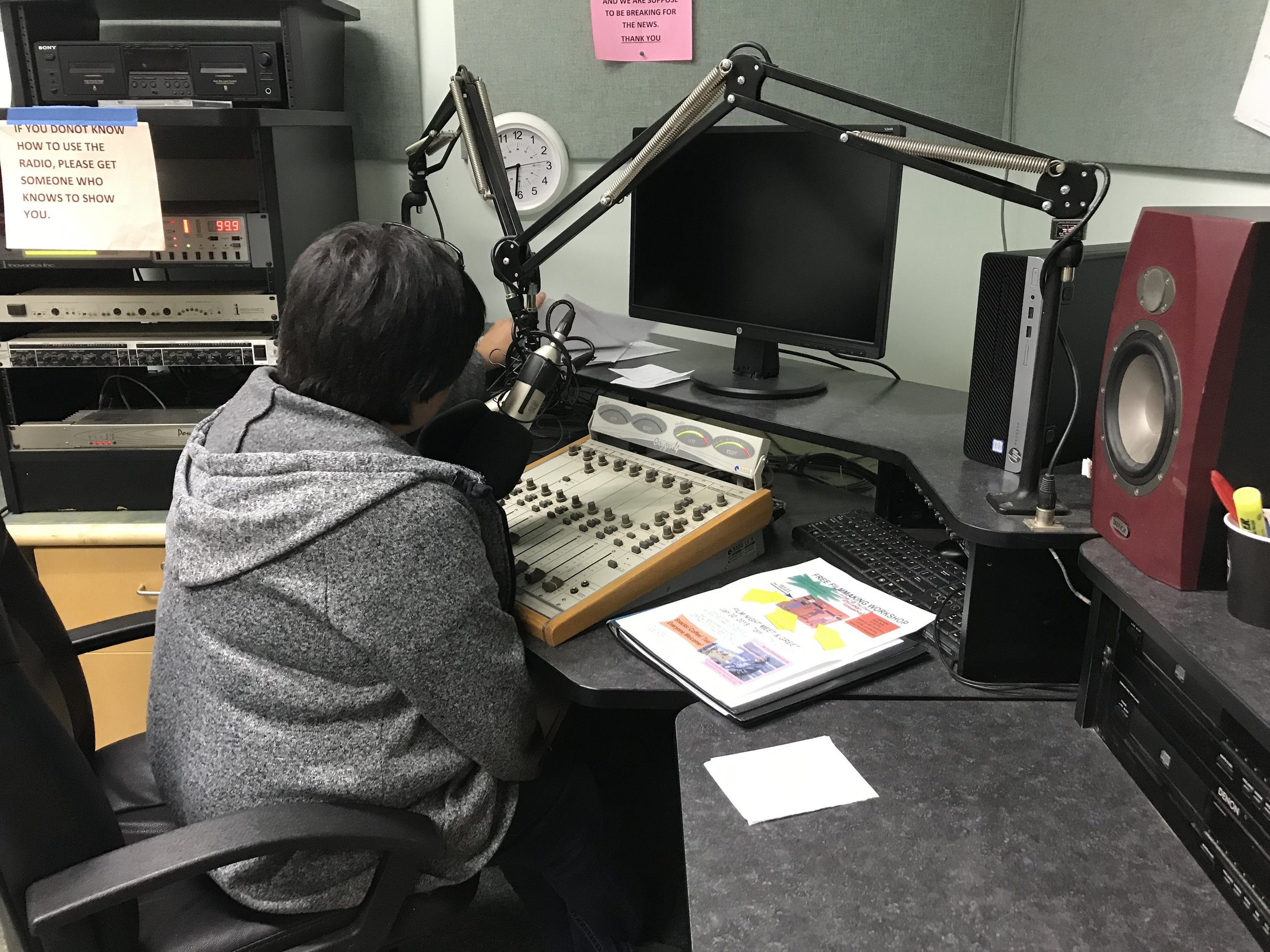 Ruby thanks us on the air!