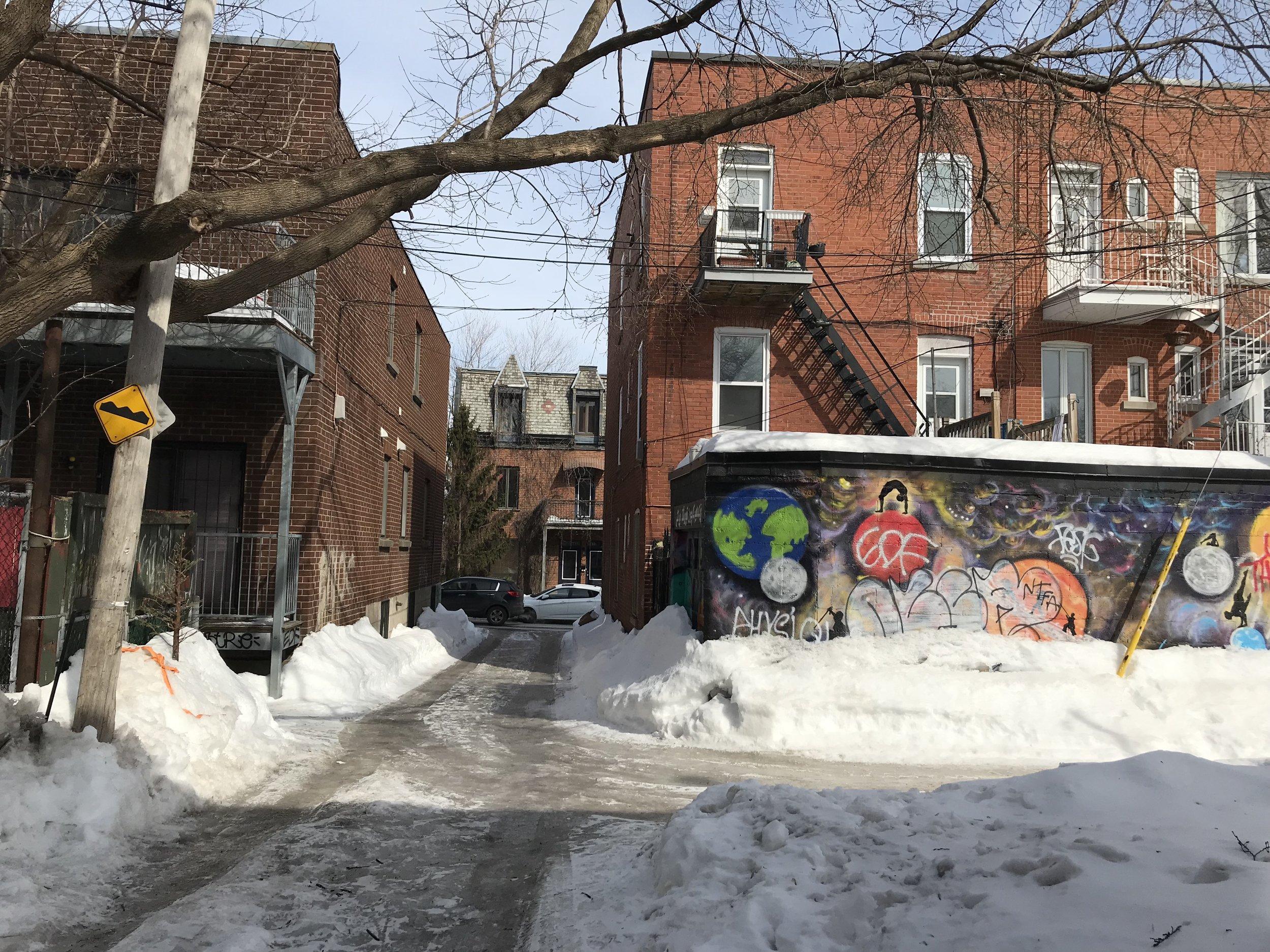 Alley artwork