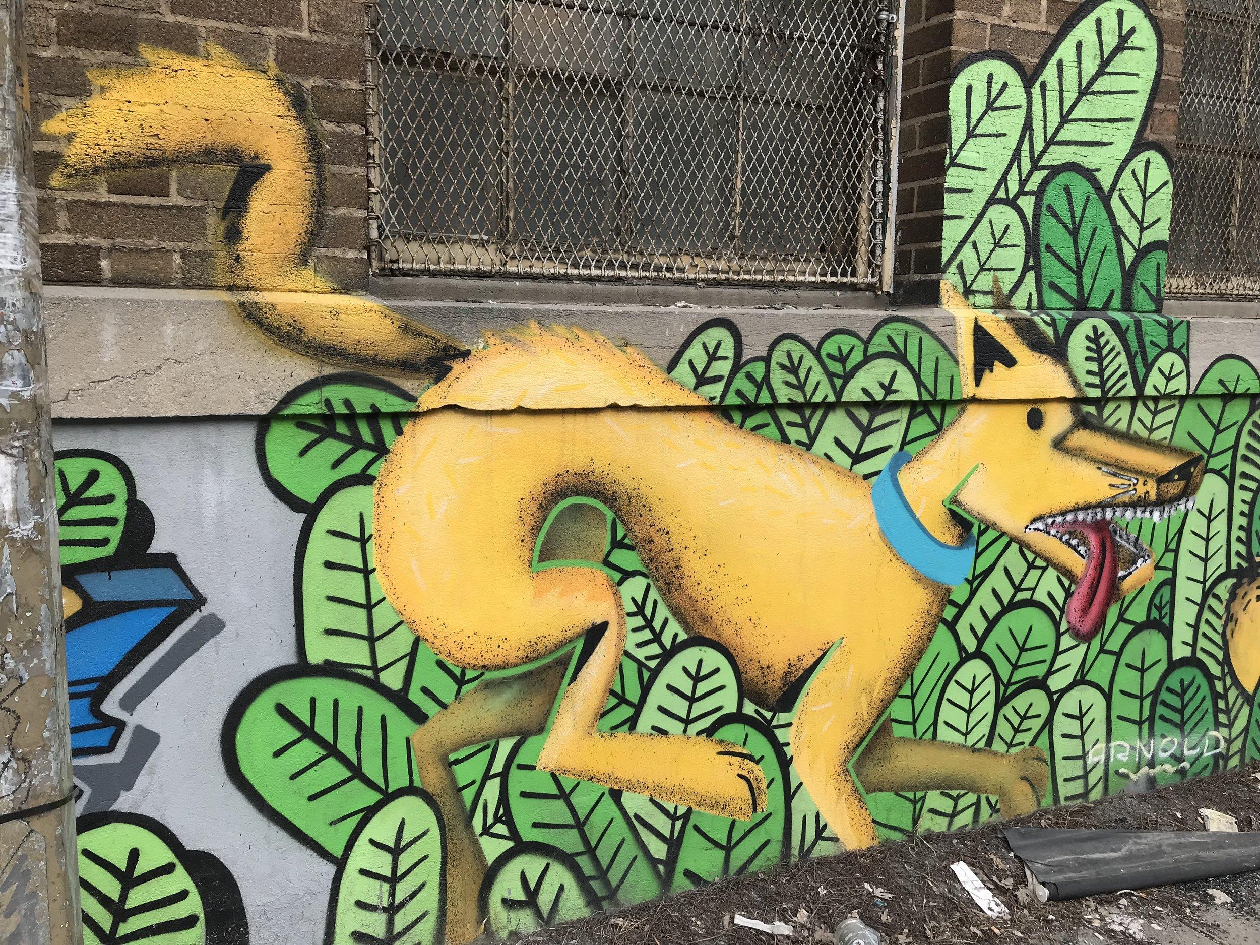 Dog art = LOVE