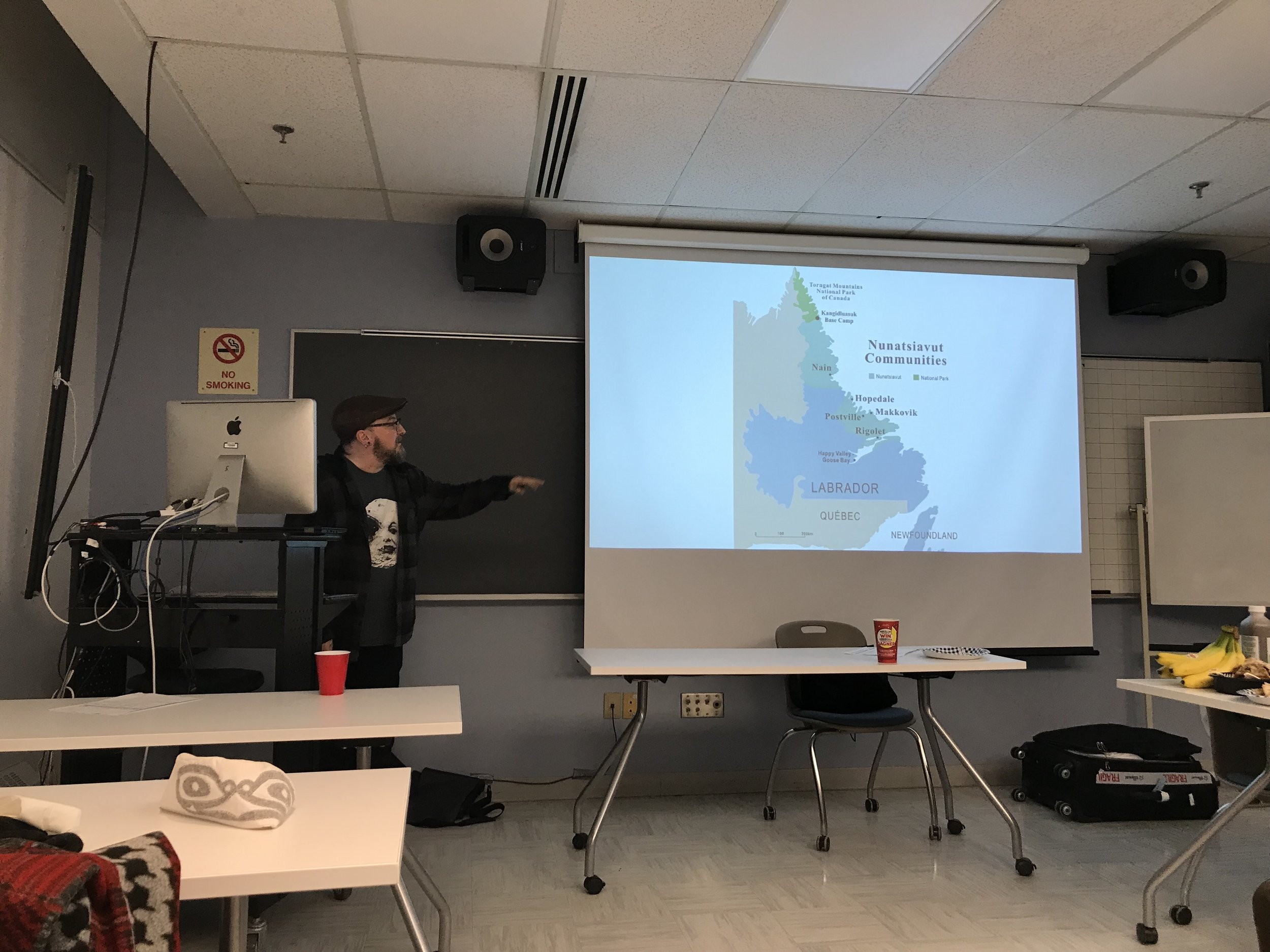 Glenn talks about Nunatsiavut