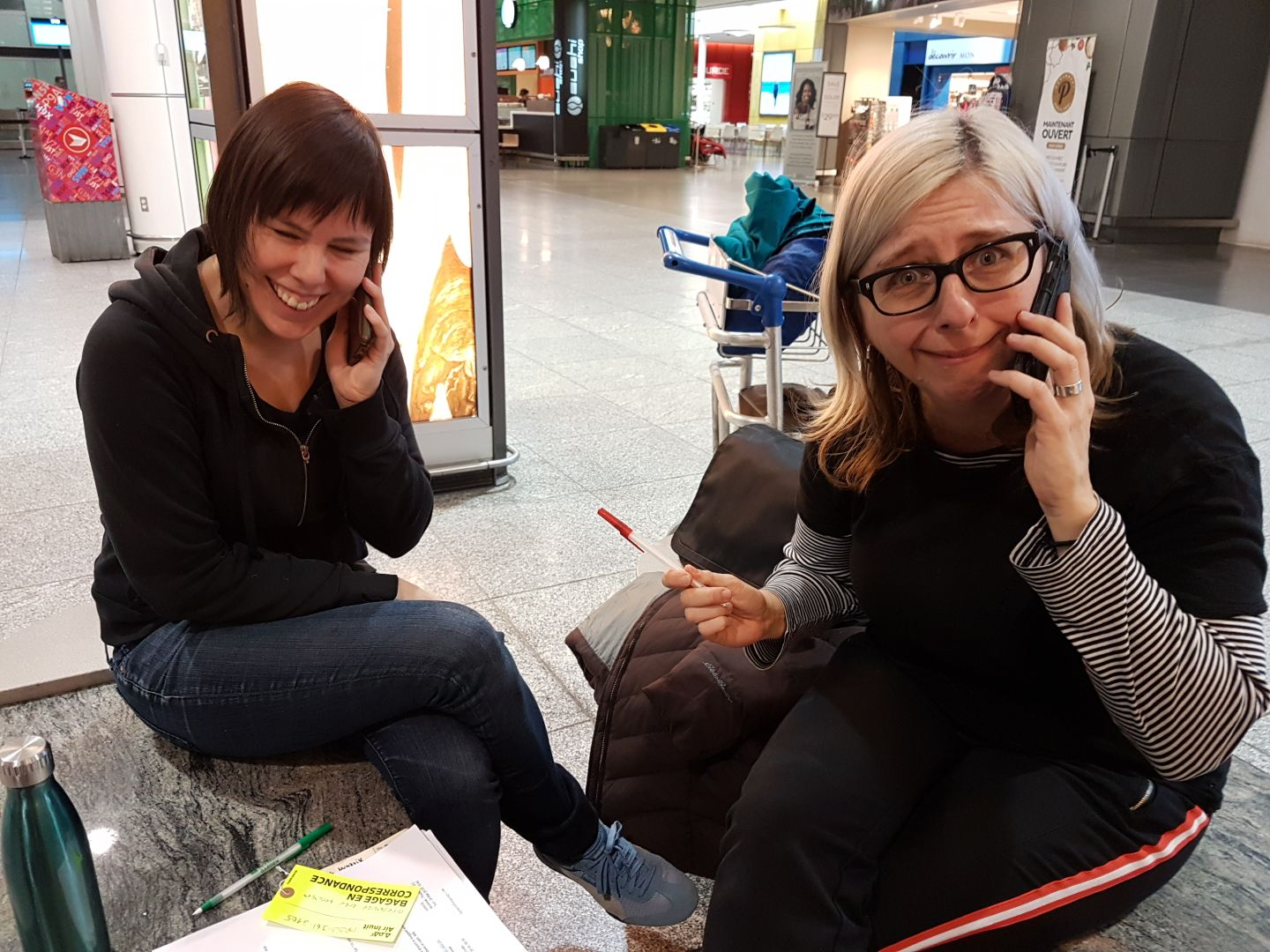 Courtney talks with Air Inuit and Lisa talks with First Air…