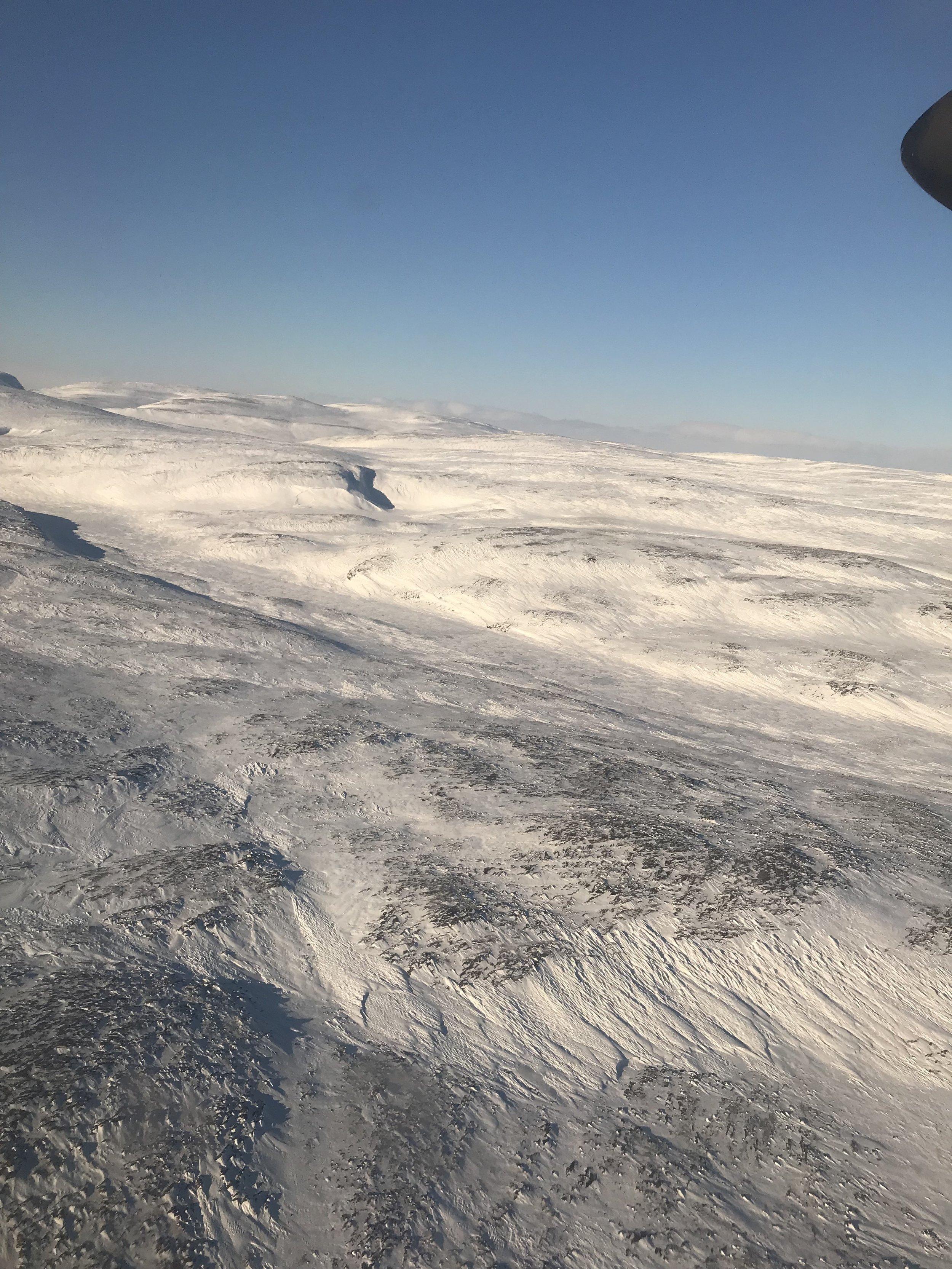 Arriving into Kangiqsujuaq…