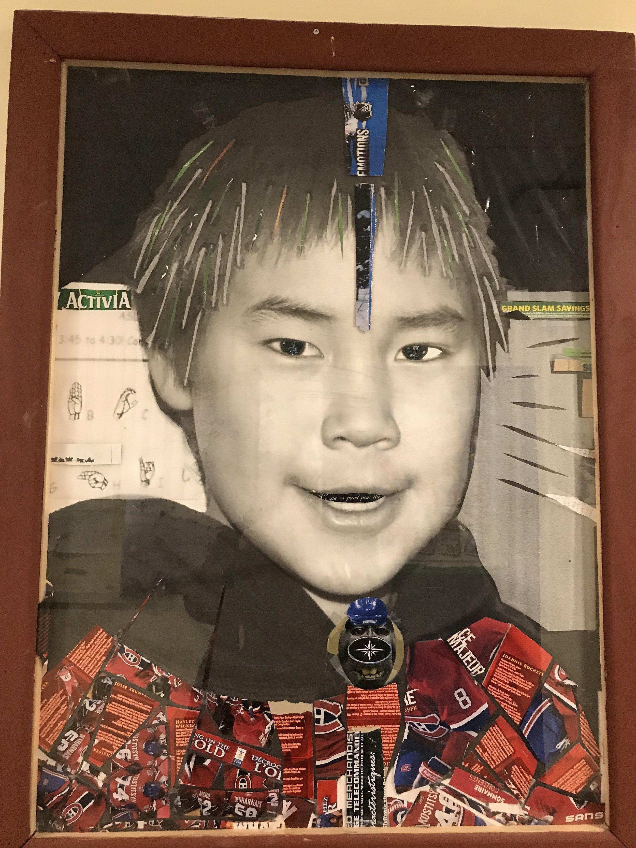 incredible student self portraits!