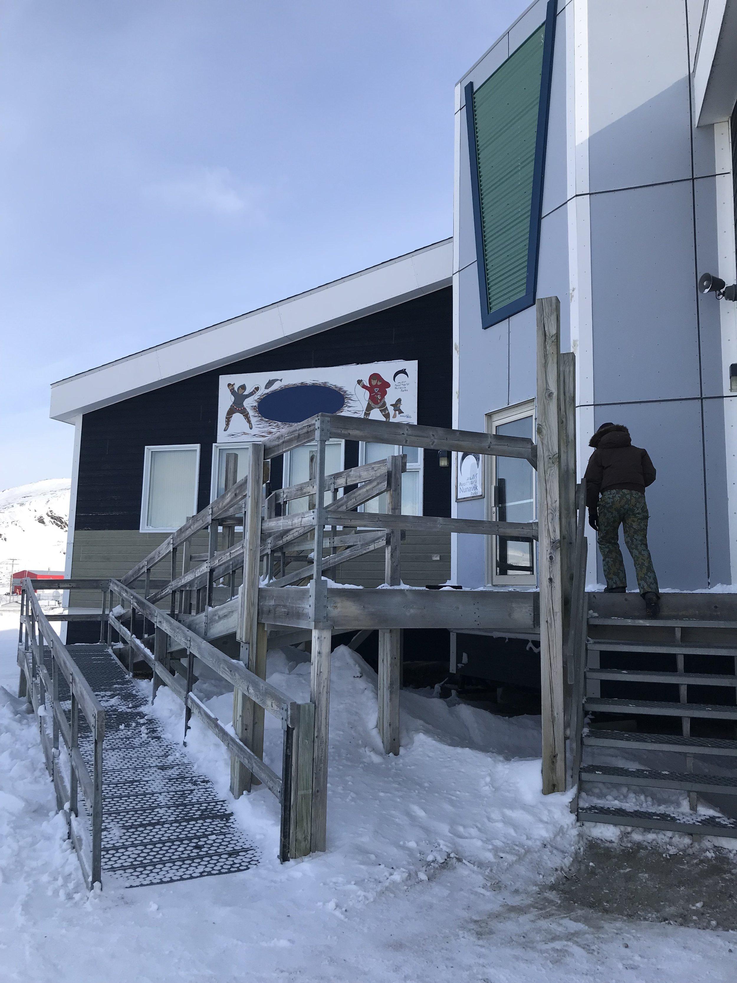 A visit to the Pingualuit National Park interpretation centre!