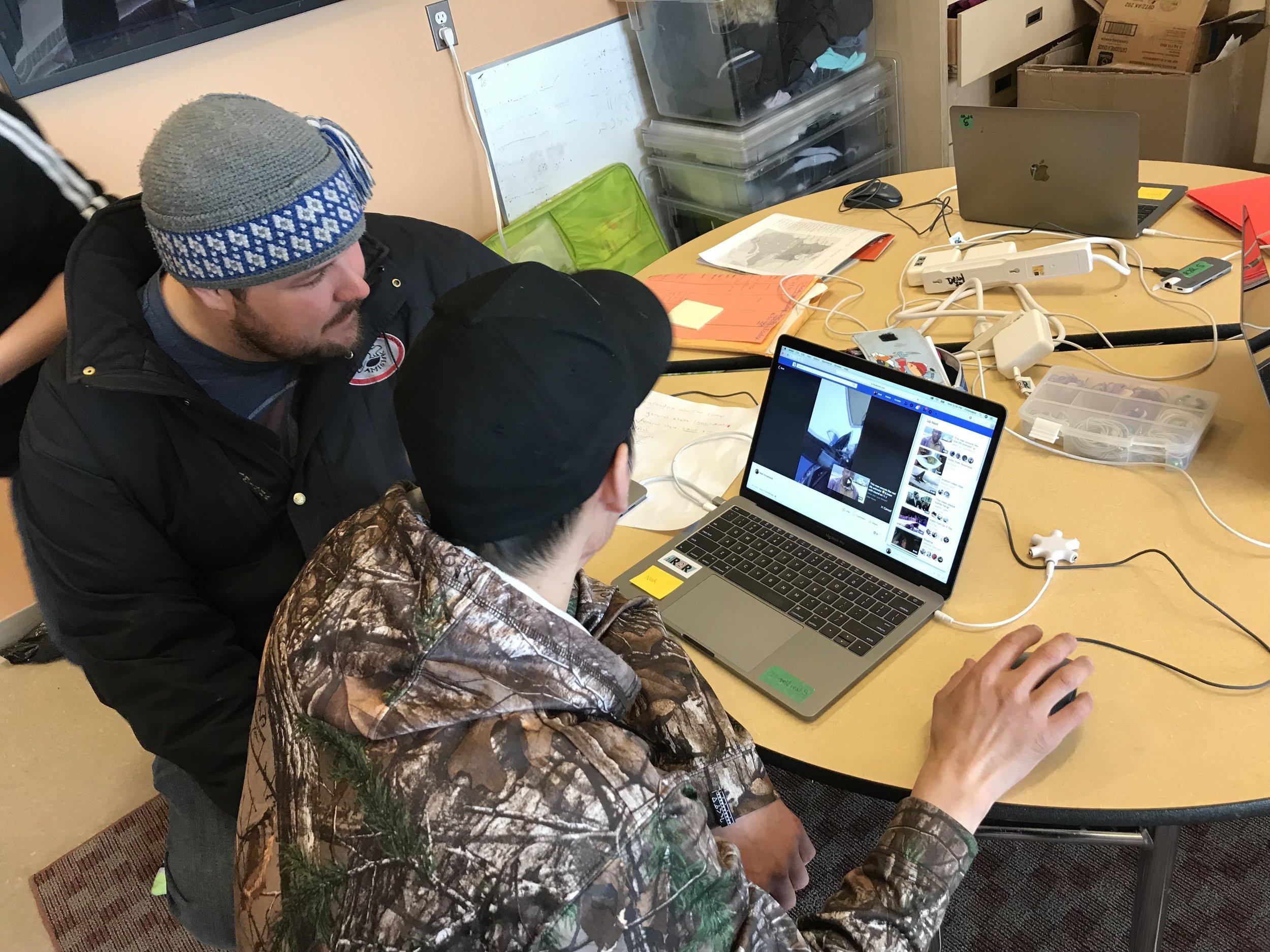 Alex P checks out Ned's film