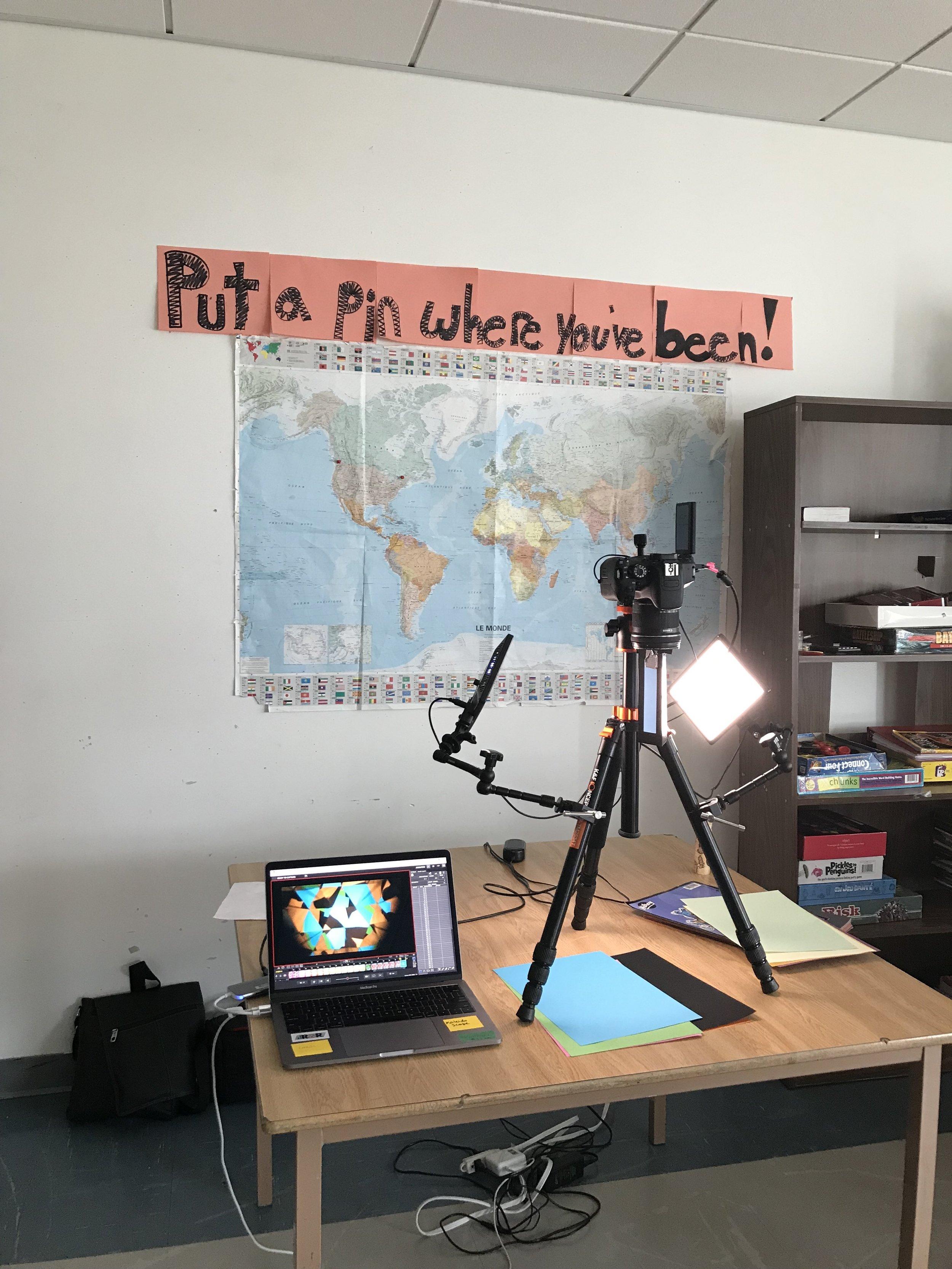 Animation set up