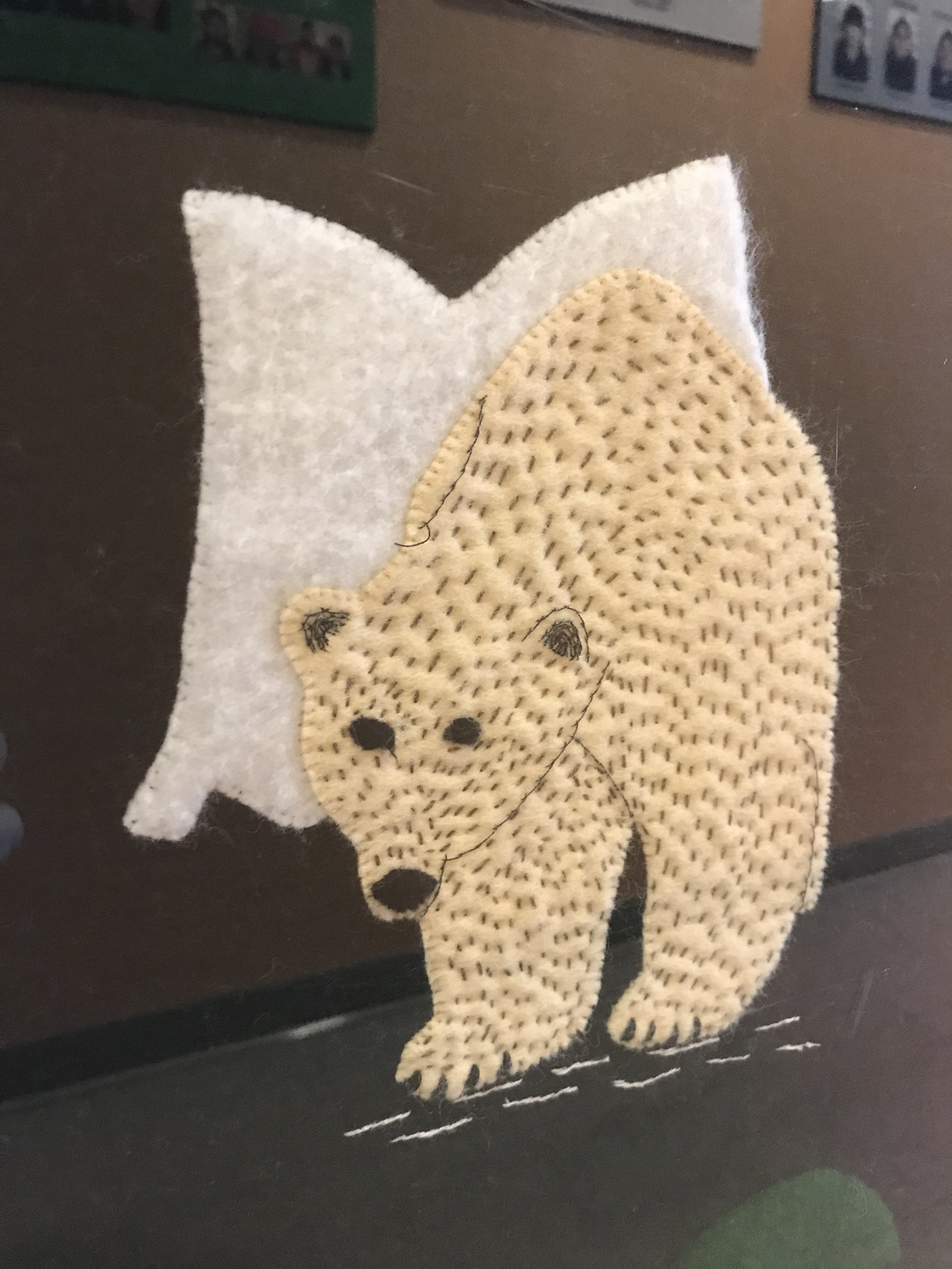Polar Bear on one of the tapestries…