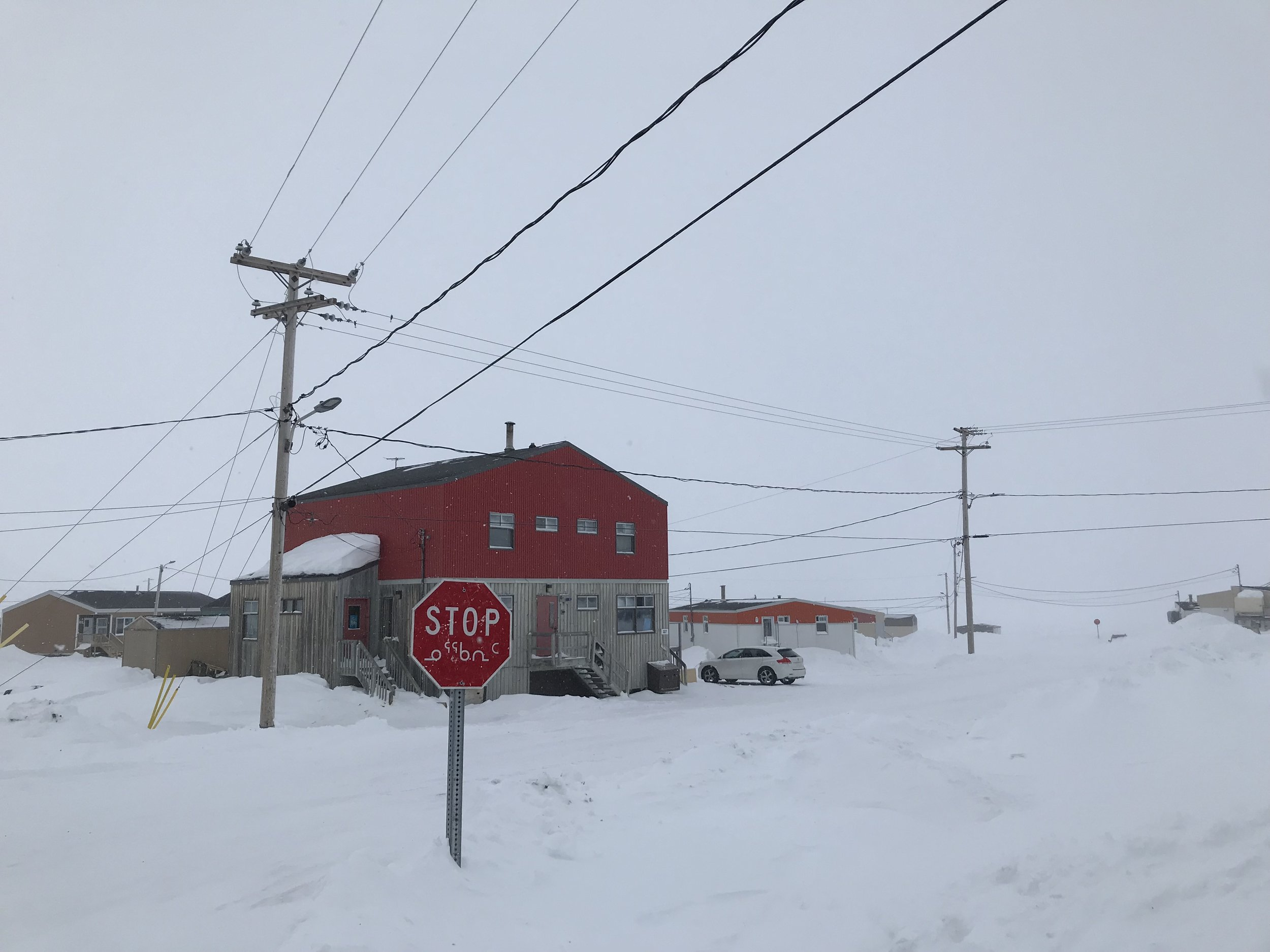 Can't get enough of the Inuktitut stop signs