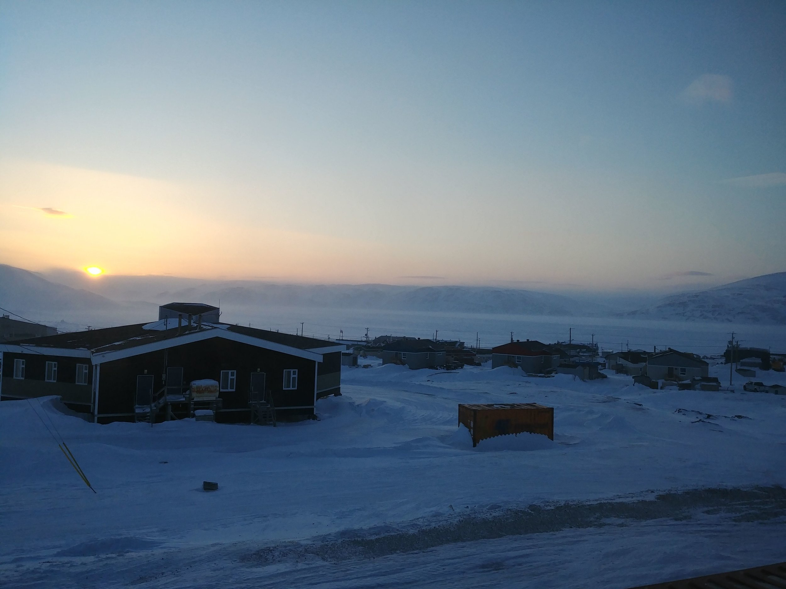 Good night Kangiqsujuaq