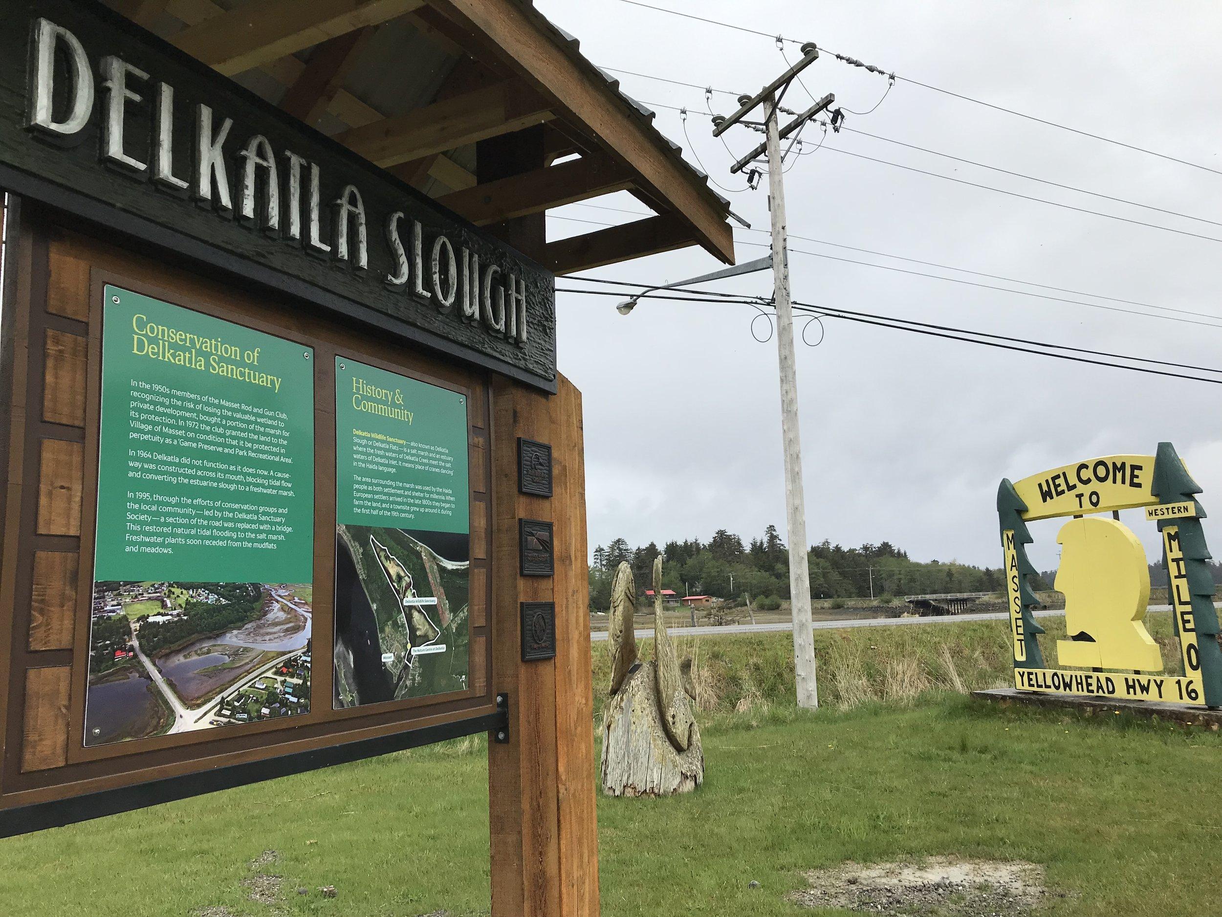 A quick stop at Delkatla Slough