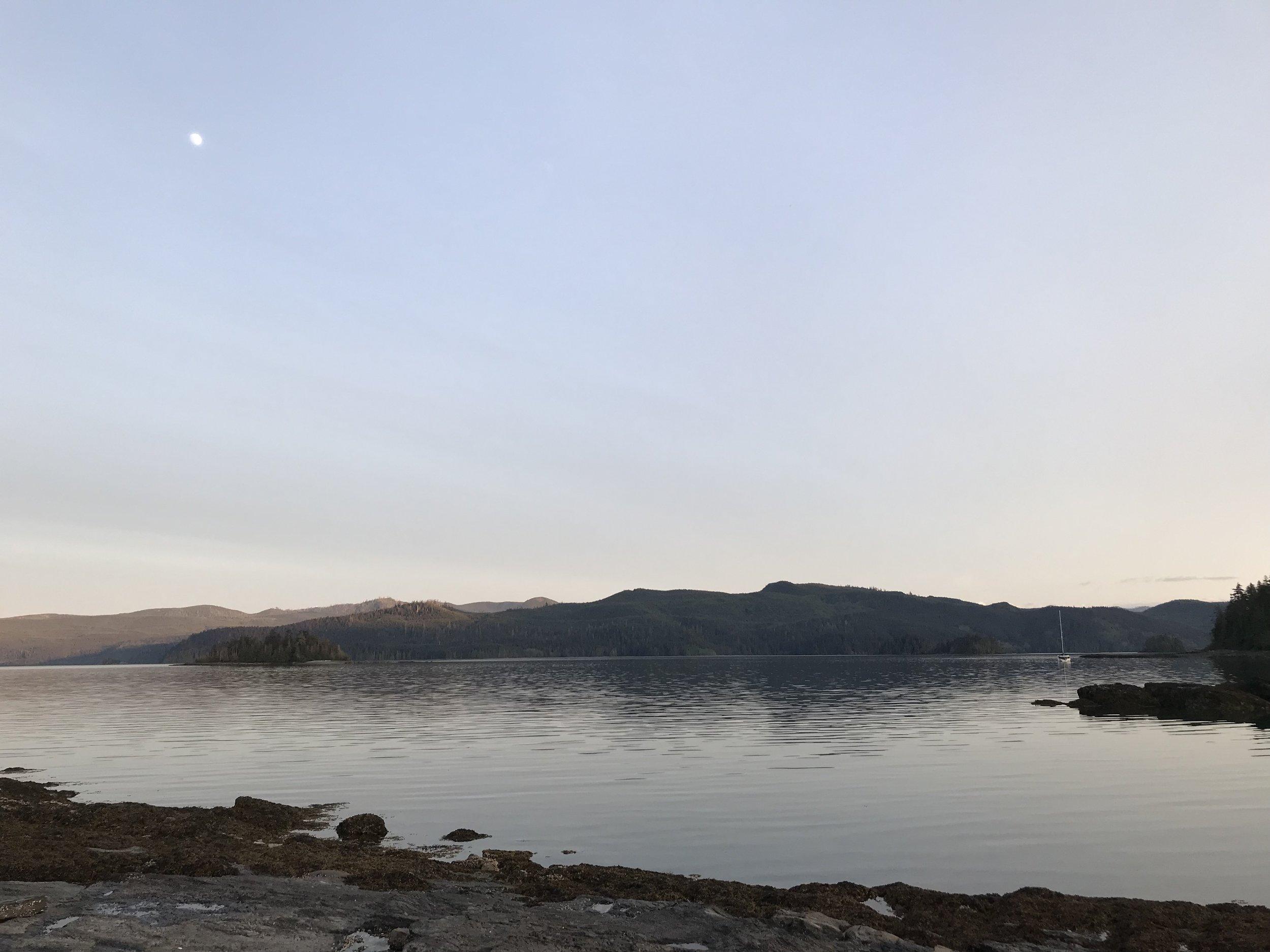 Sundown in charlotte
