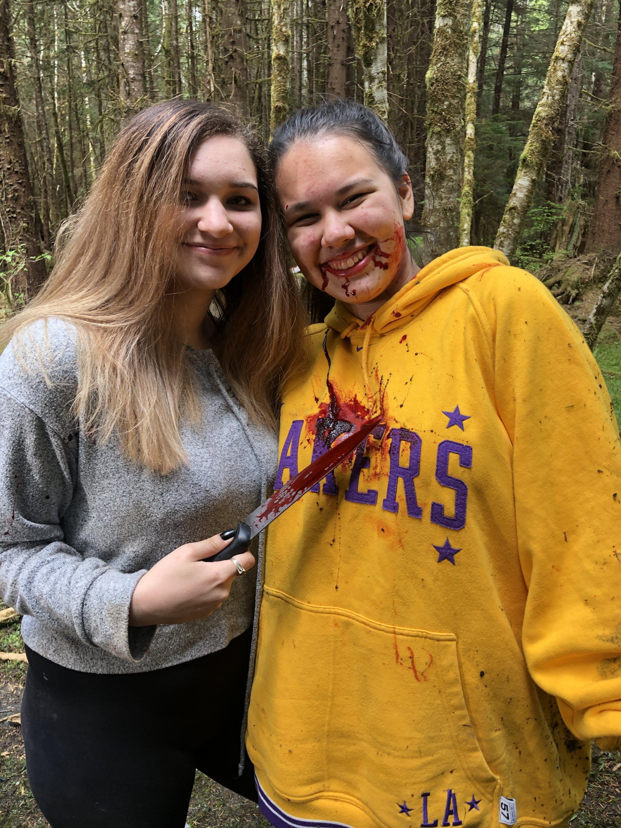Still friends even after a murder…