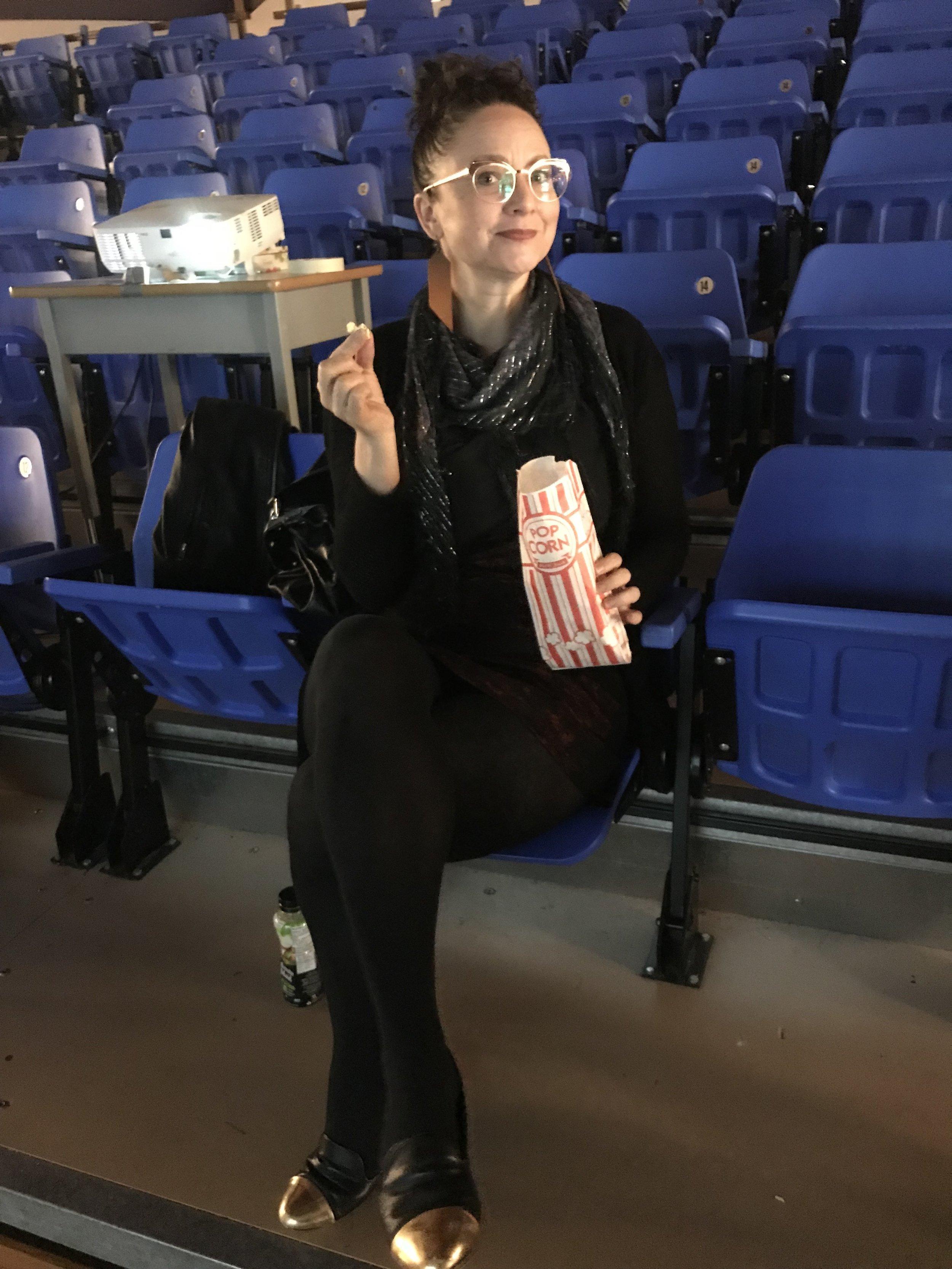 Odessa Shuquaya, filmmaker and curator of the night