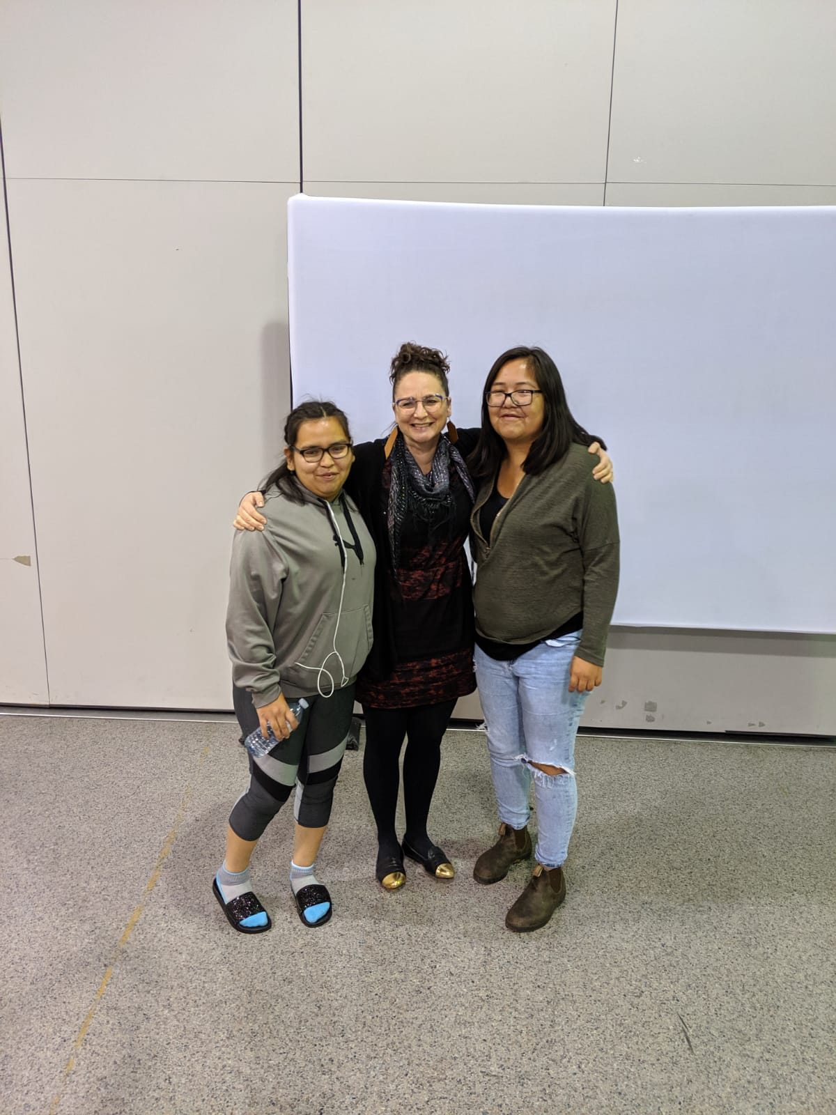 Kelly Anderson, Odessa Shuquaya & Roberta Williams