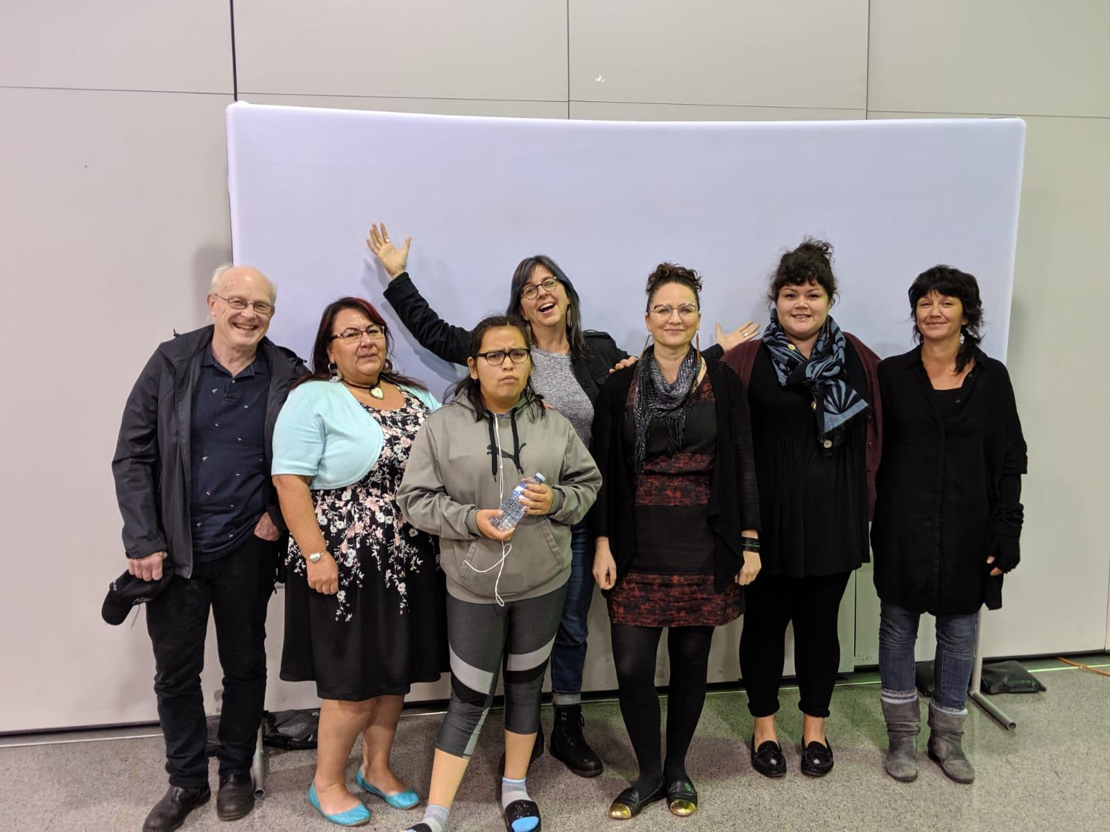 Left to right Peter, Leah, Kelly, Lisa g, Odessa, Lisa W & Sebnem