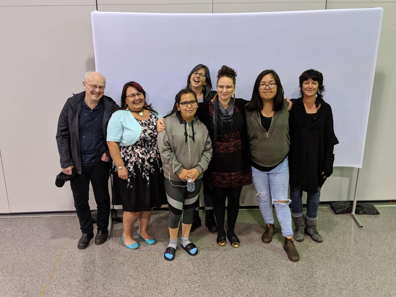 Left to right Peter, Leah, Kelly, Lisa g, Odessa, Roberta & Sebnem