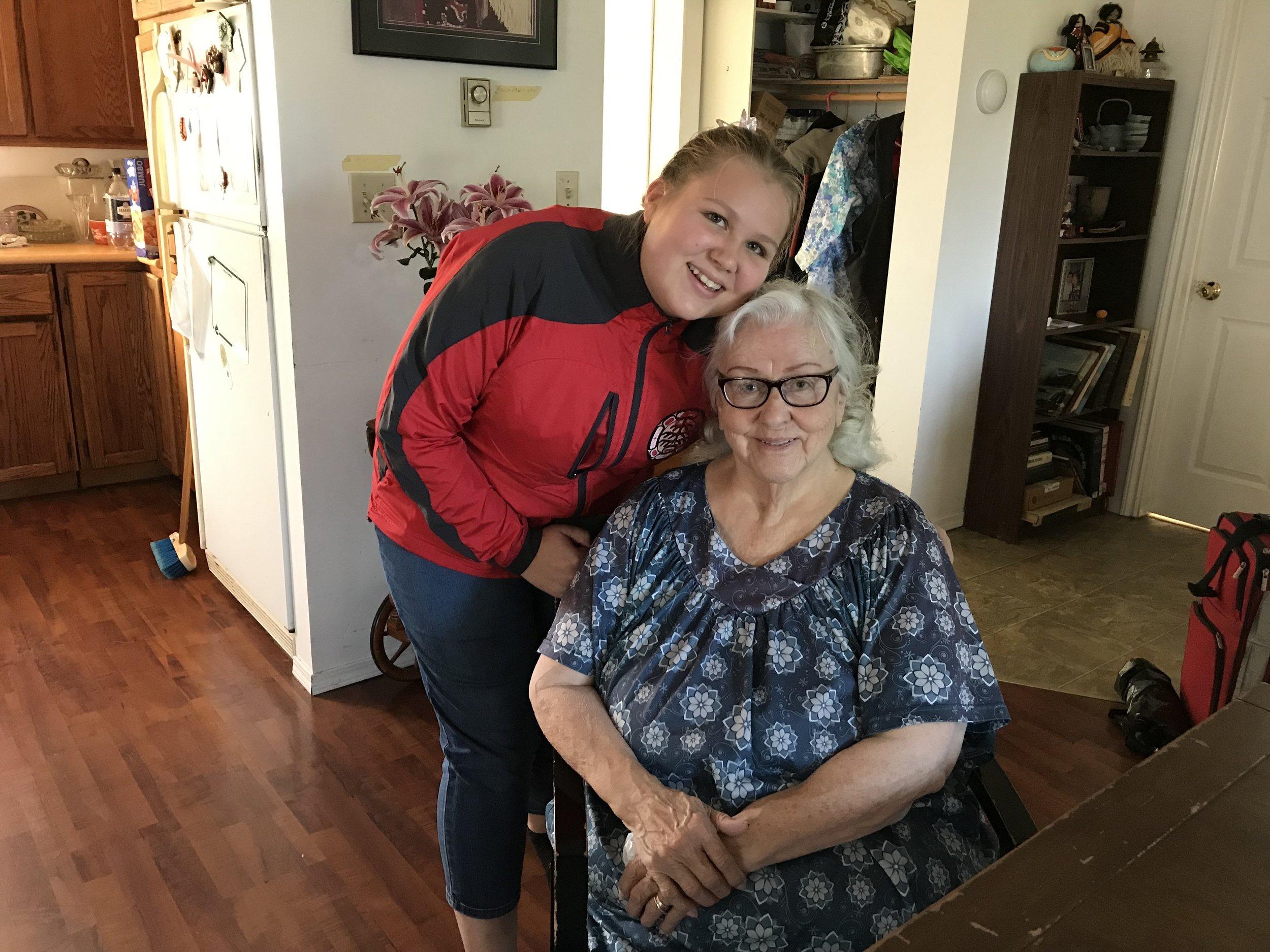 Sue-Ann and Grandma Meredith