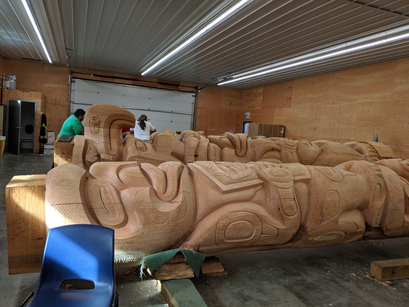 More carving footage
