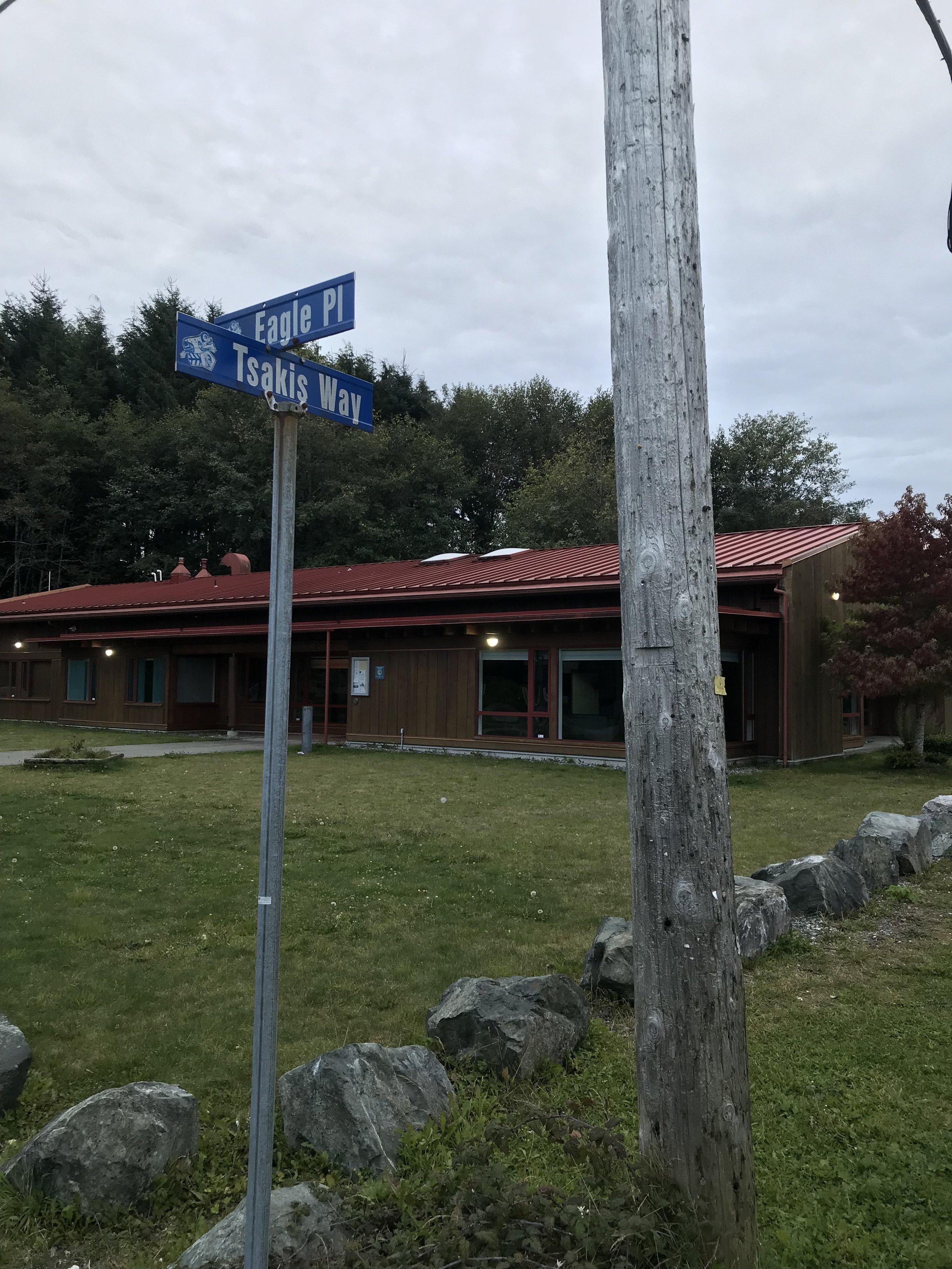 Fort Rupert intersection
