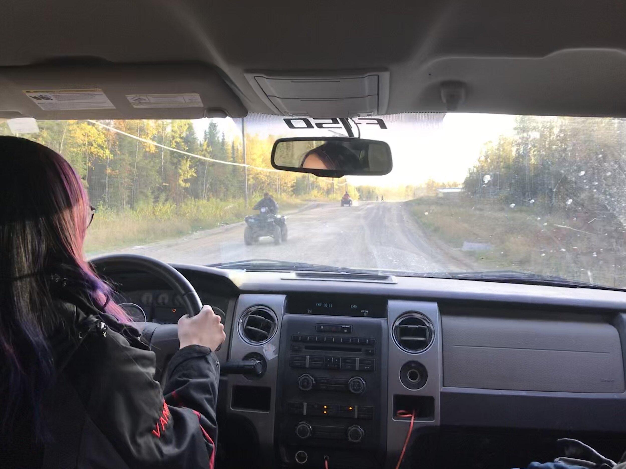 Teacher Vanessa takes us on a tour of Pikangikum