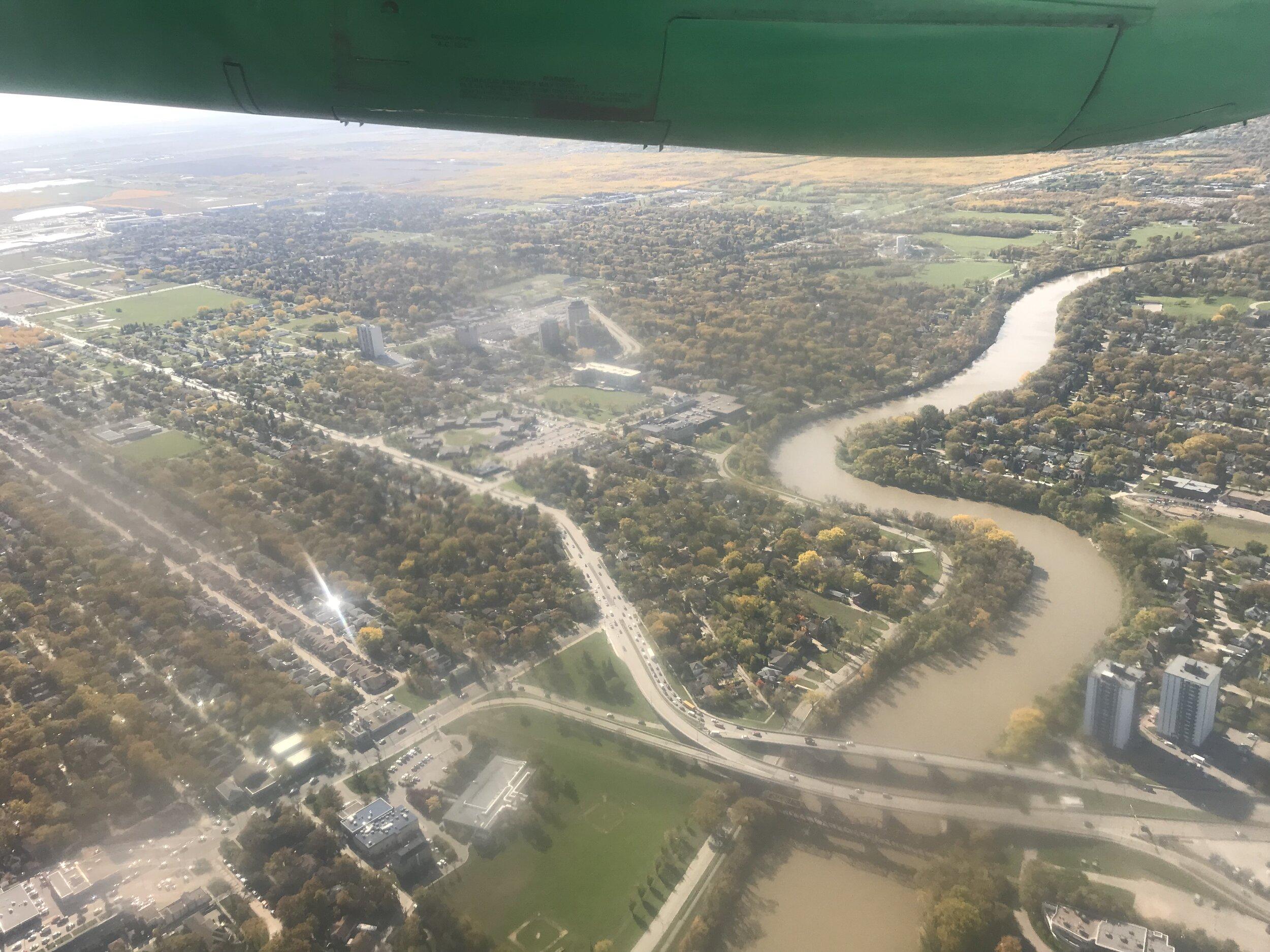 Goodbye Winnipeg…Red River or Assiniboine River?