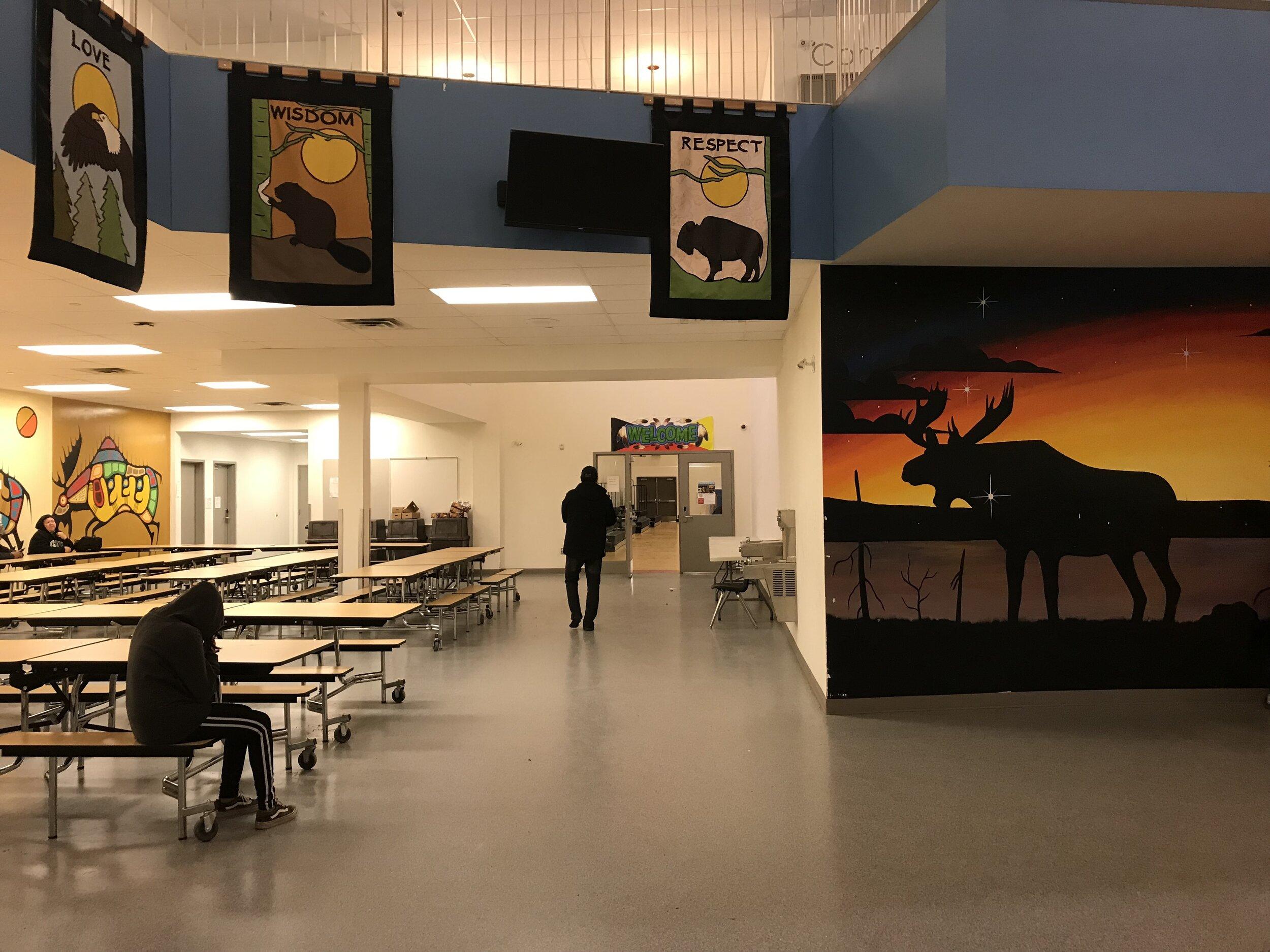 Eenchokay Birchstick School  interior 2