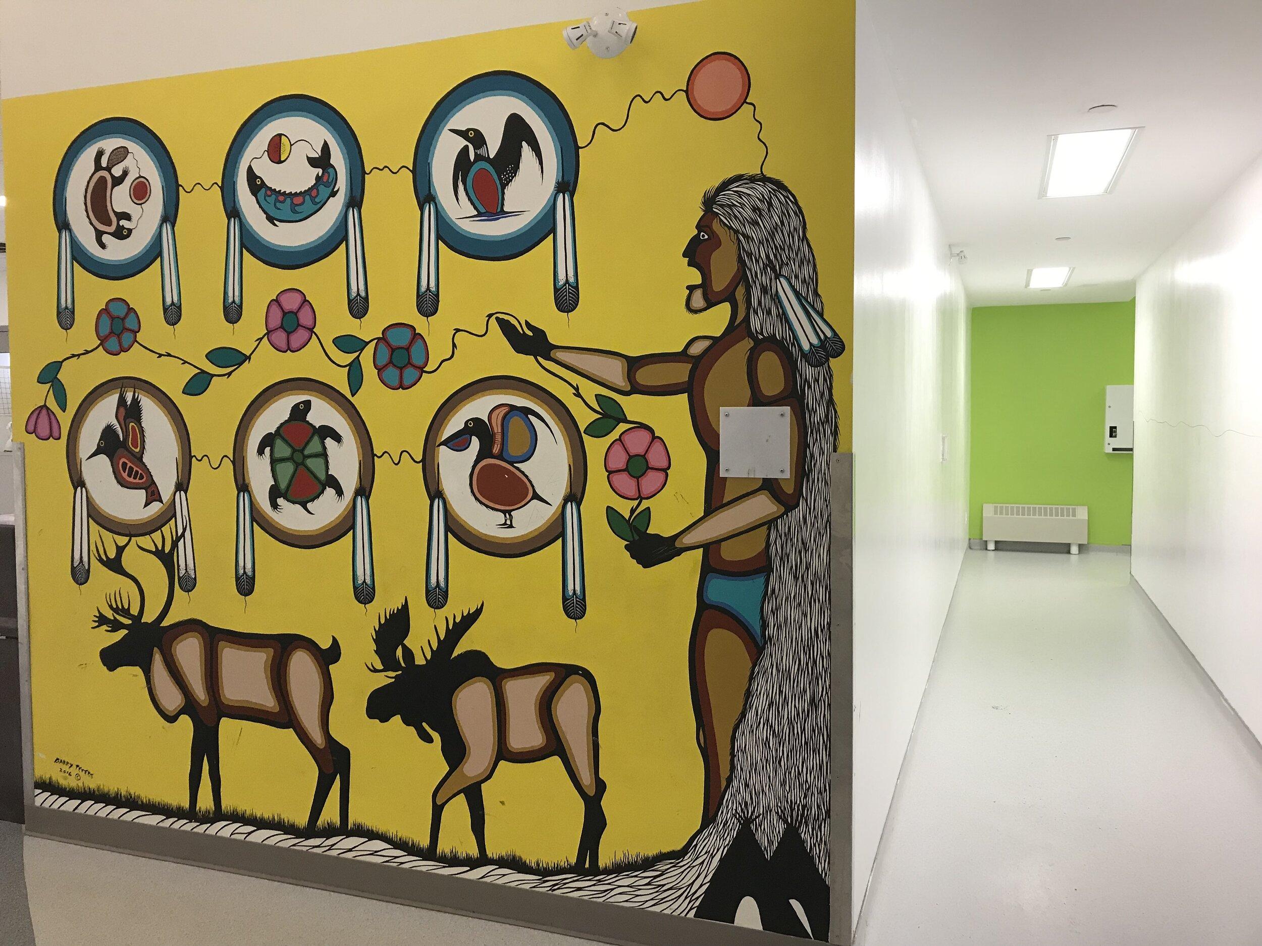 Eenchokay Birchstick School  interior 3