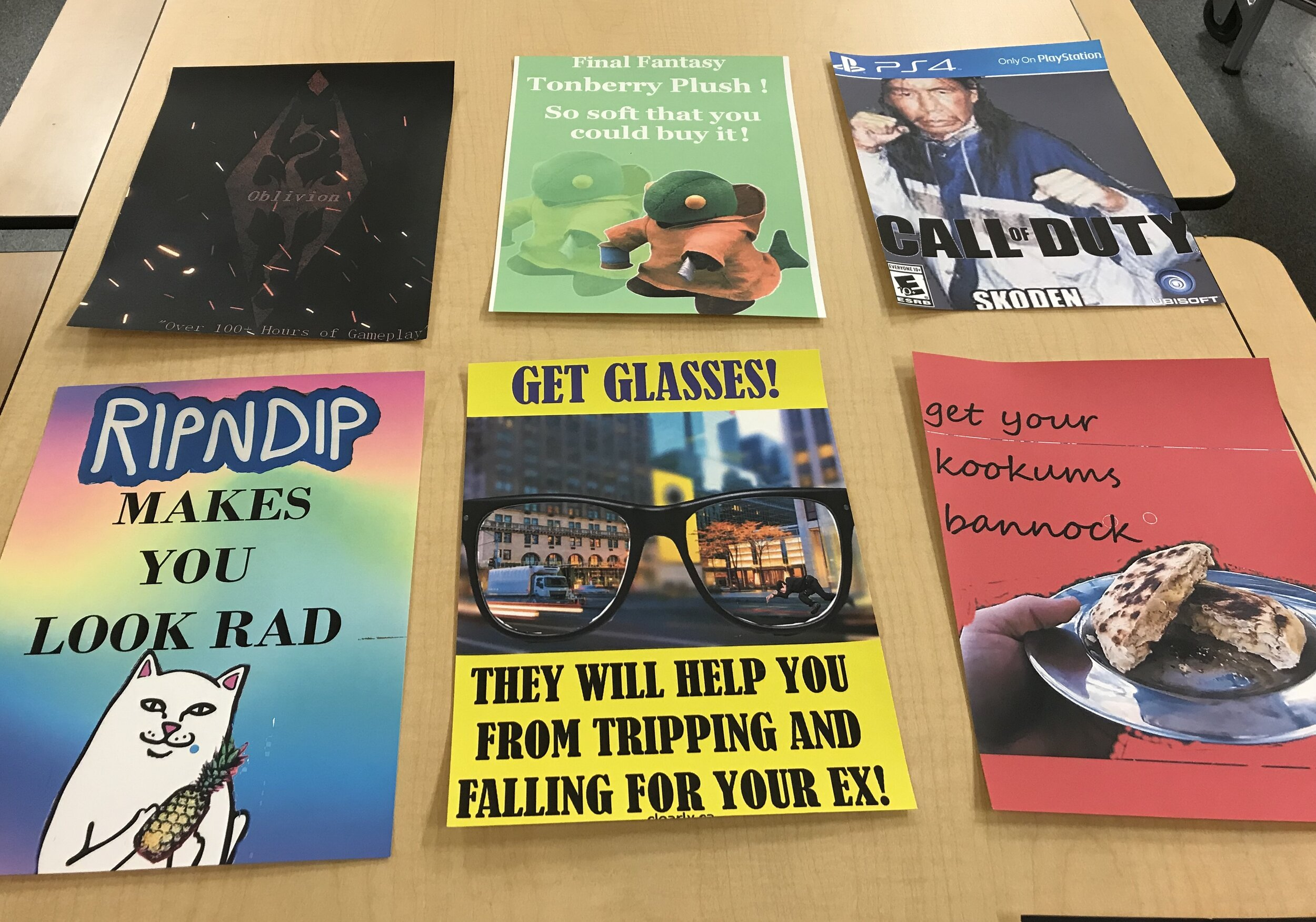 student advertising campaigns
