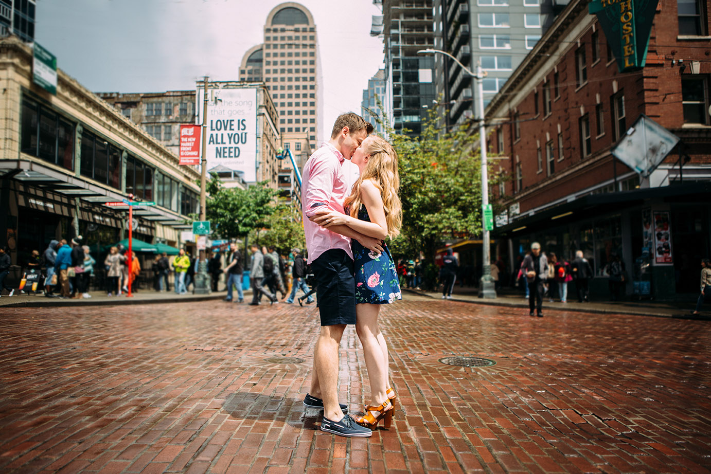 Downtown Seattle Engagement