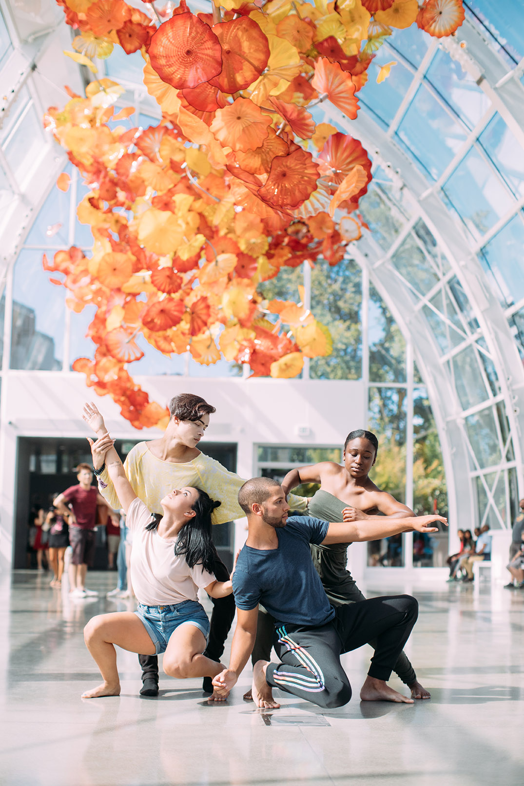 Chihuly Museum of Glass dancers