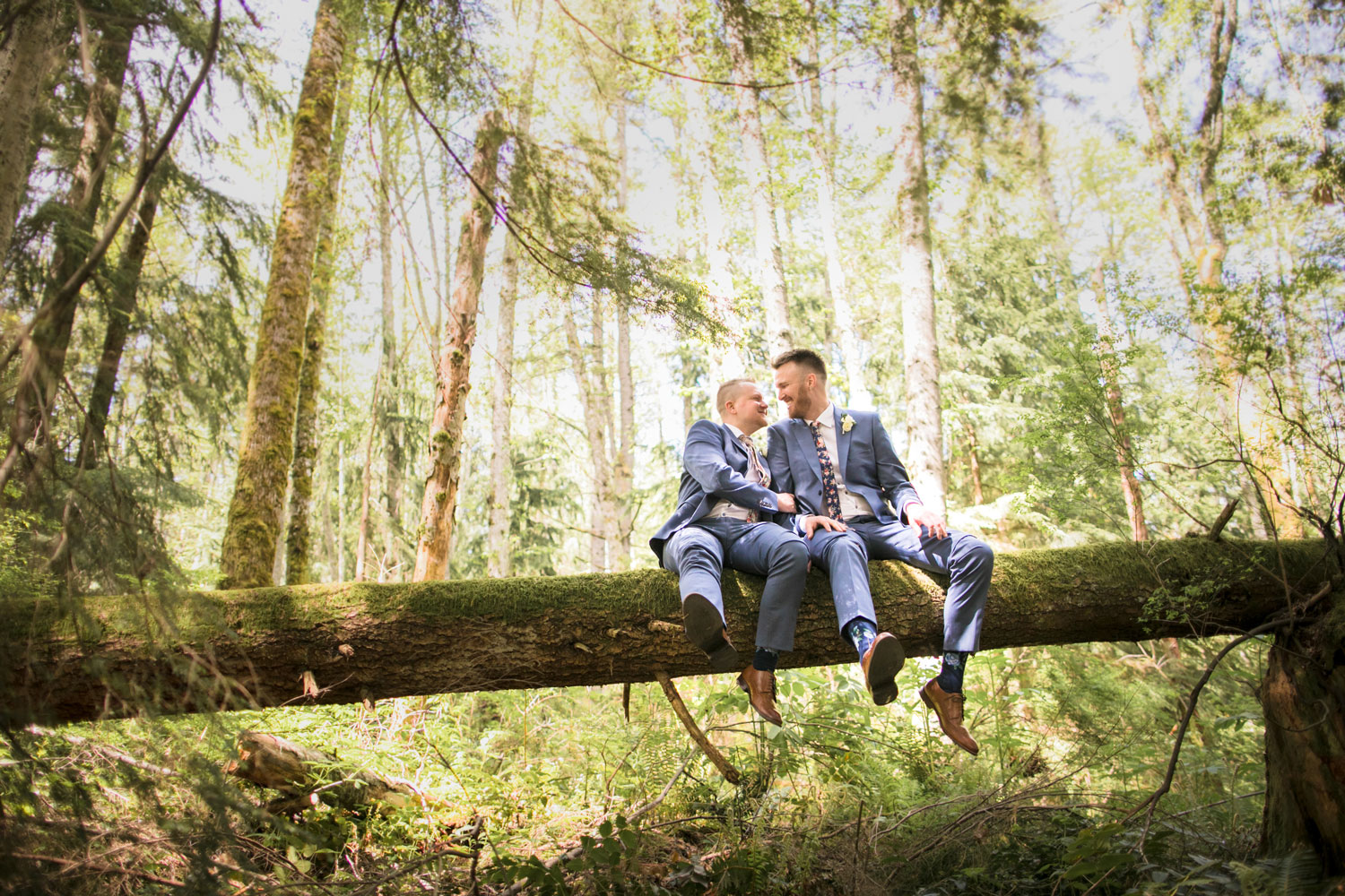 Seattle Gay Wedding Portrait