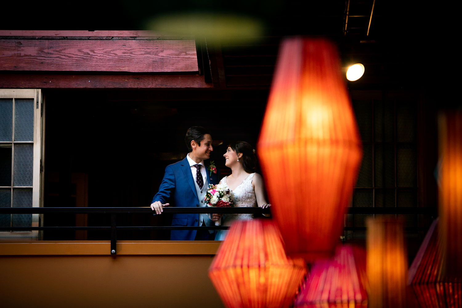 Georgetown-Ballroom-Seattle-Wedding-Photographer-Balcony-Bride.jpg