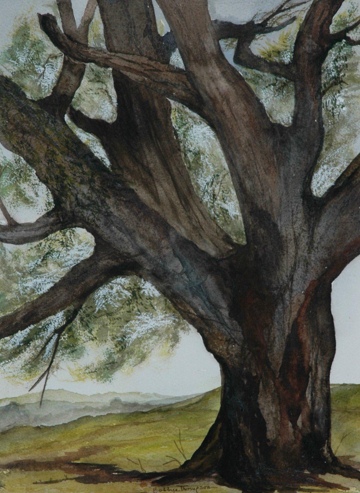 Mighty Oak - Watercolor
