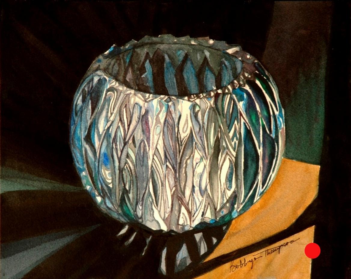 Crystal bowl sold