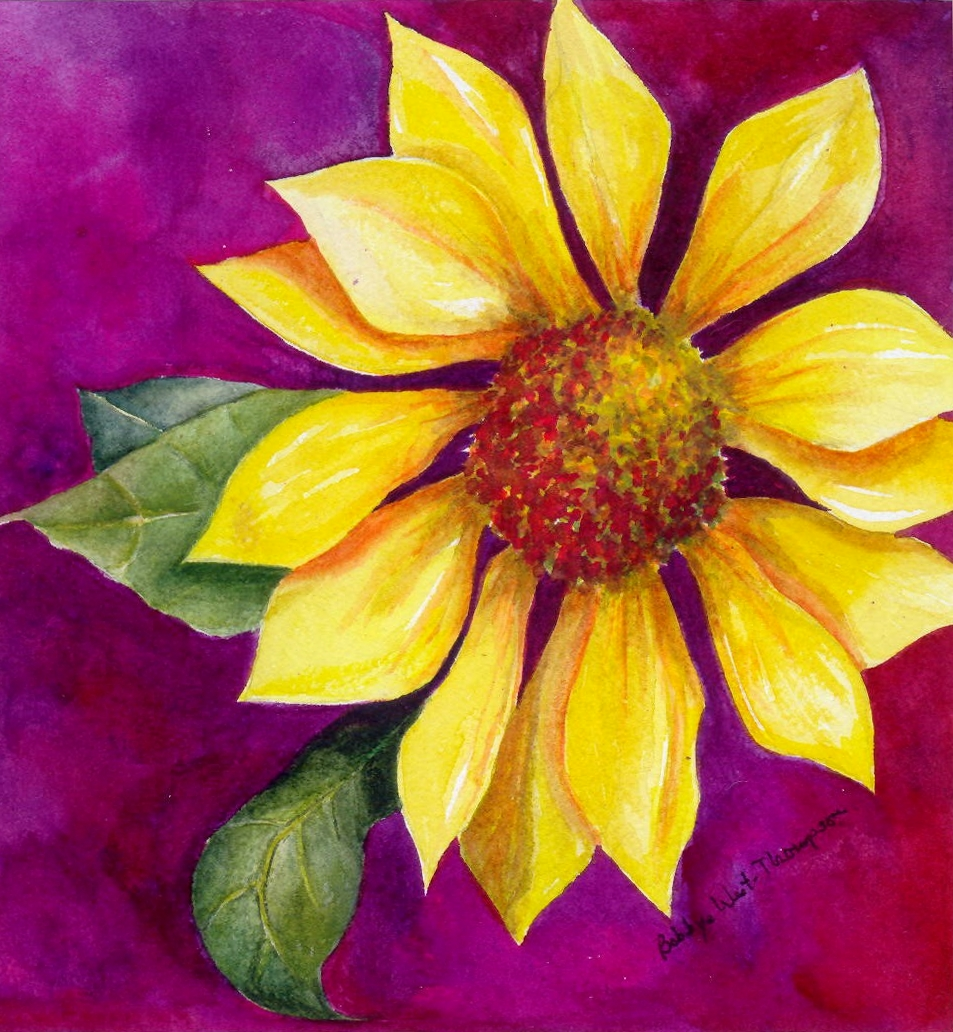 Yellow flower - Watercolor.jpg
